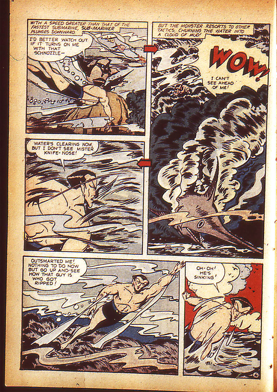 Sub-Mariner Comics Issue #10 #10 - English 7