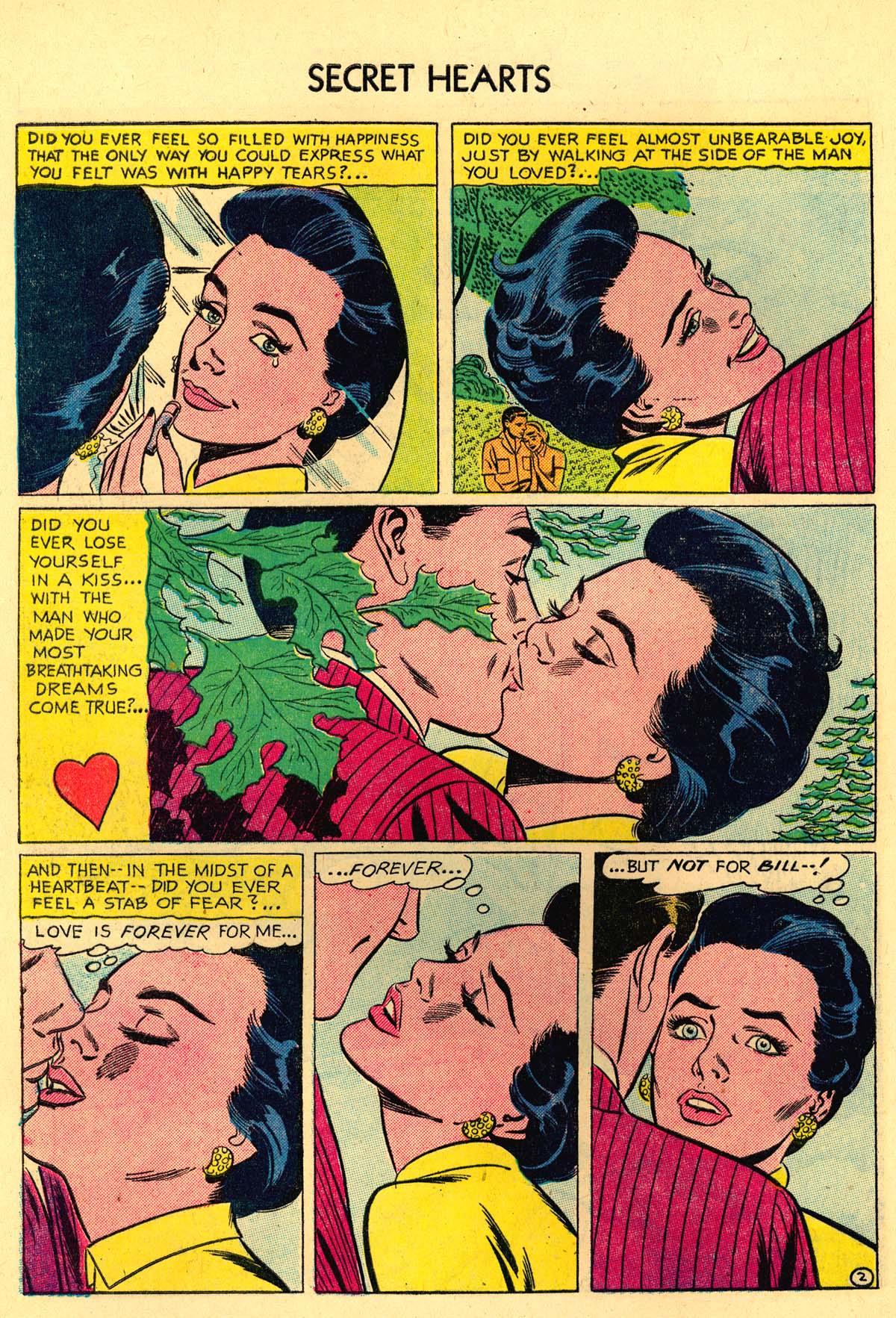 Read online Secret Hearts comic -  Issue #35 - 28