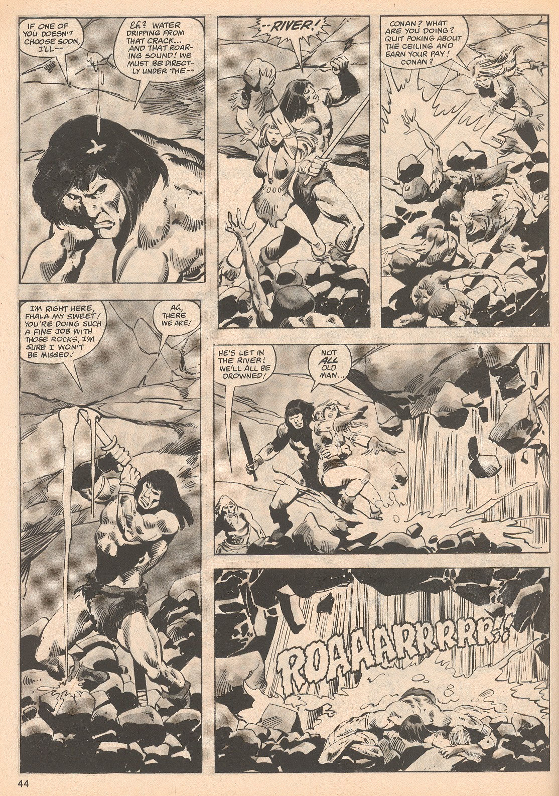 The Savage Sword Of Conan Issue #70 #71 - English 44