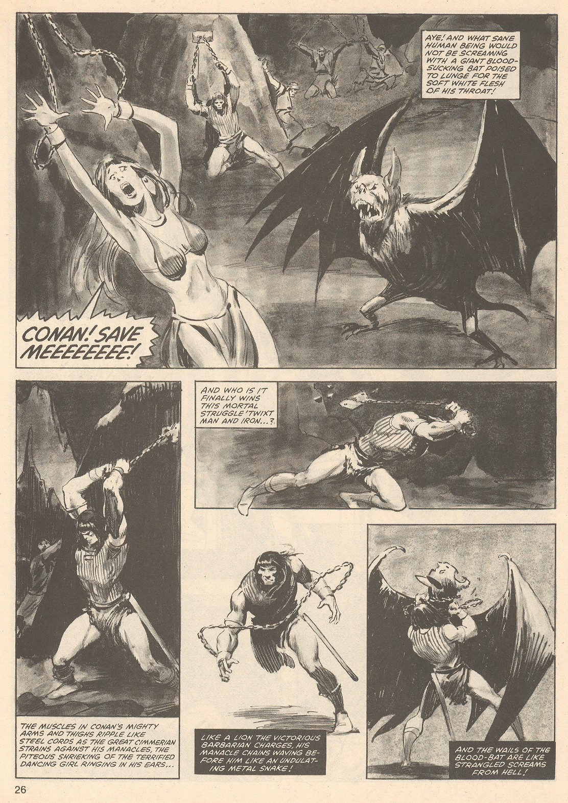 The Savage Sword Of Conan Issue #76 #77 - English 26