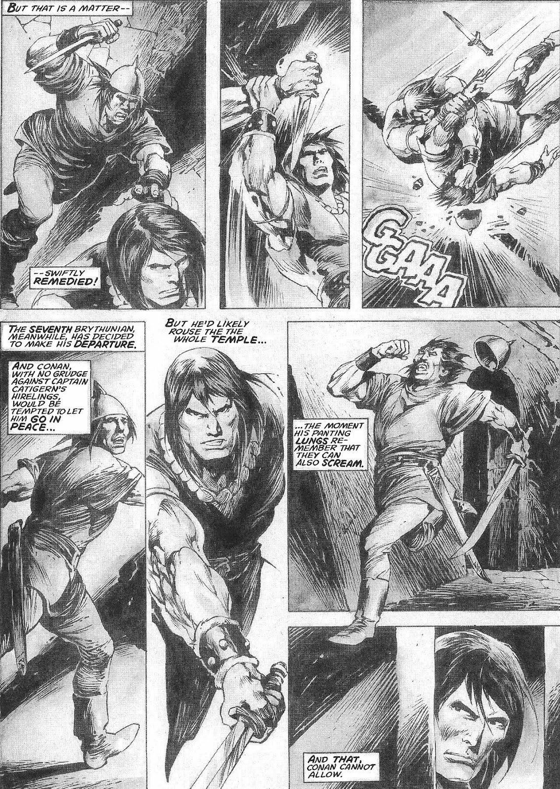 The Savage Sword Of Conan Issue #209 #210 - English 34