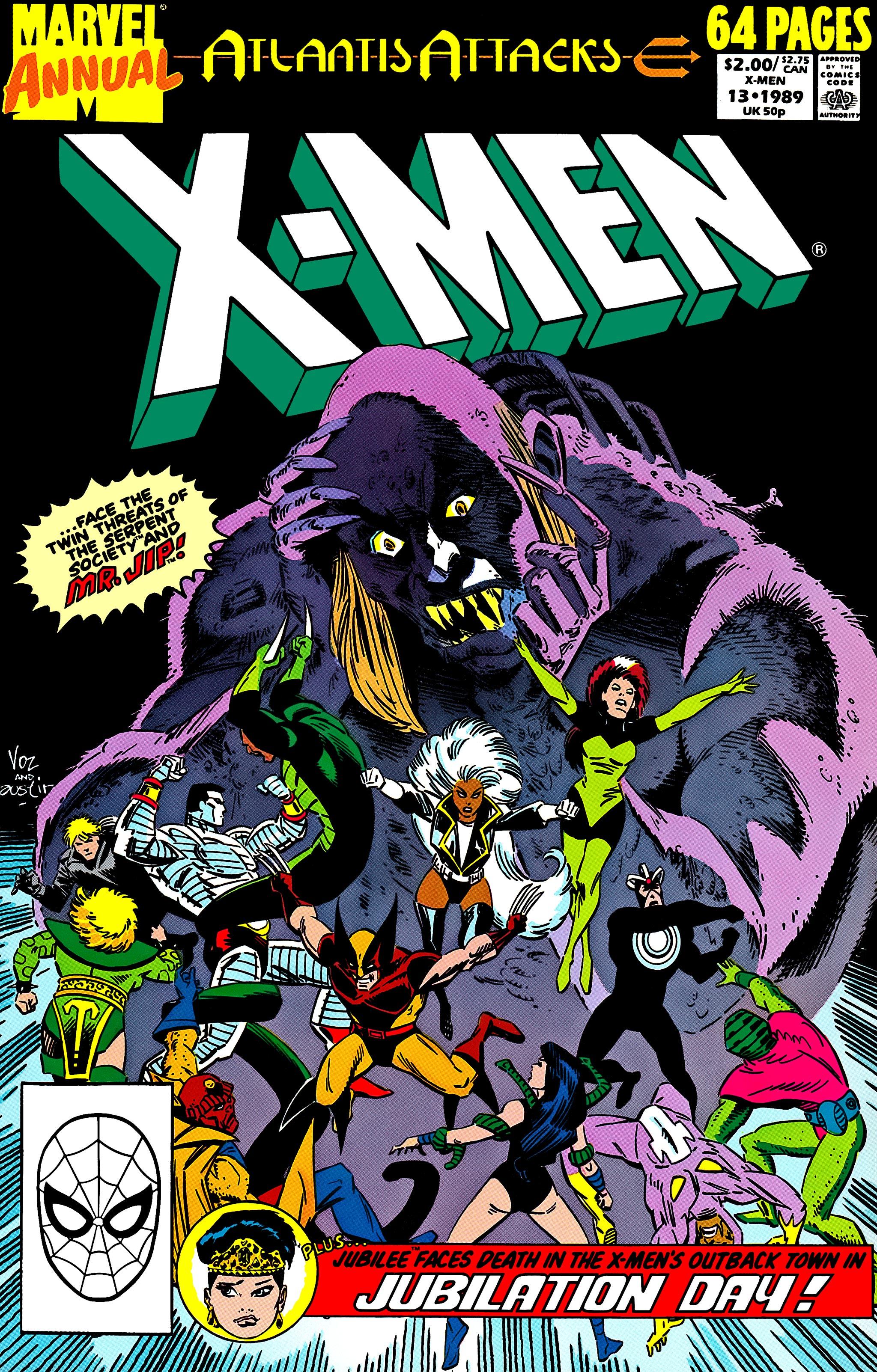 Uncanny X-Men (1963) _Annual_13 Page 1