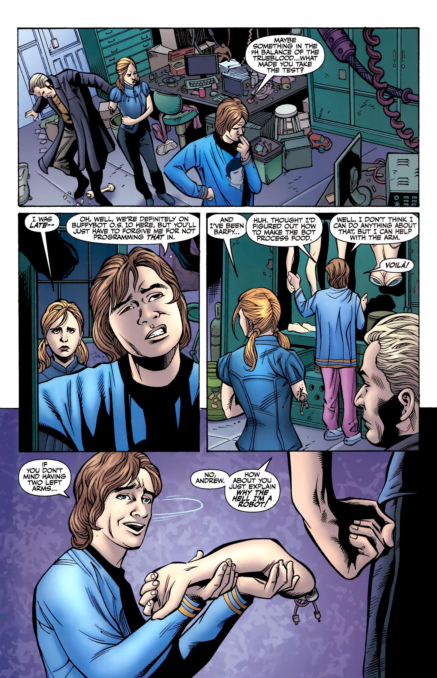 Read online Buffy the Vampire Slayer Season Nine comic -  Issue #8 - 8