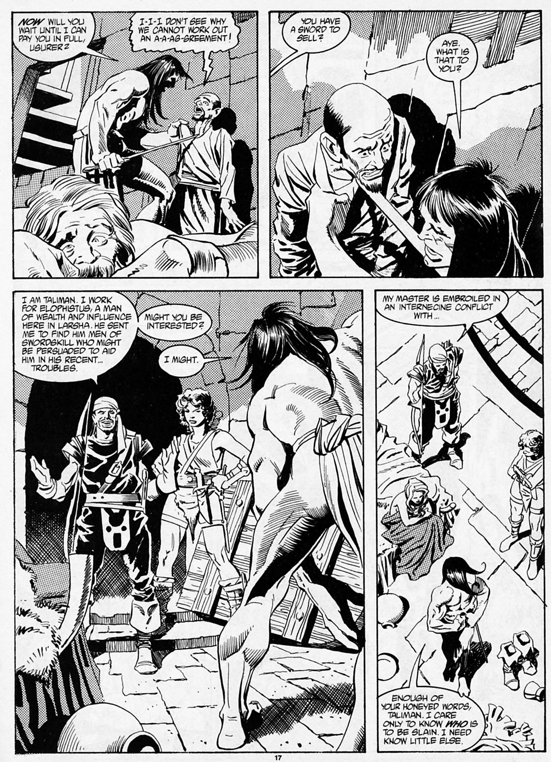 The Savage Sword Of Conan Issue #186 #187 - English 19