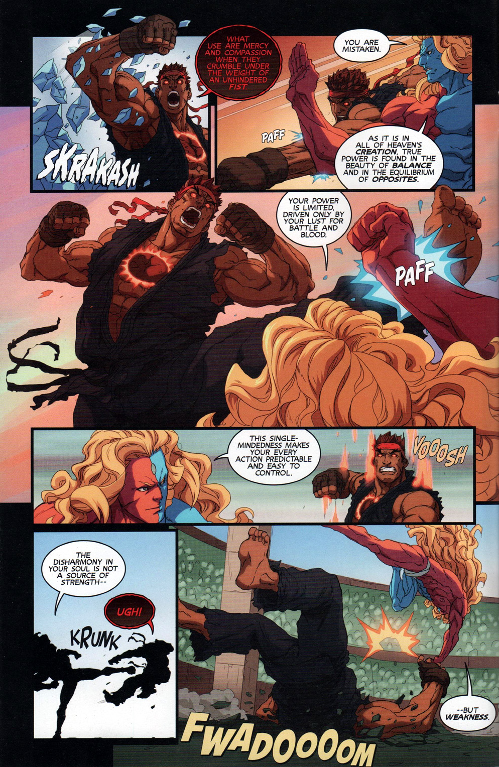 Street Fighter Unlimited Issue #10 #12 - English 8