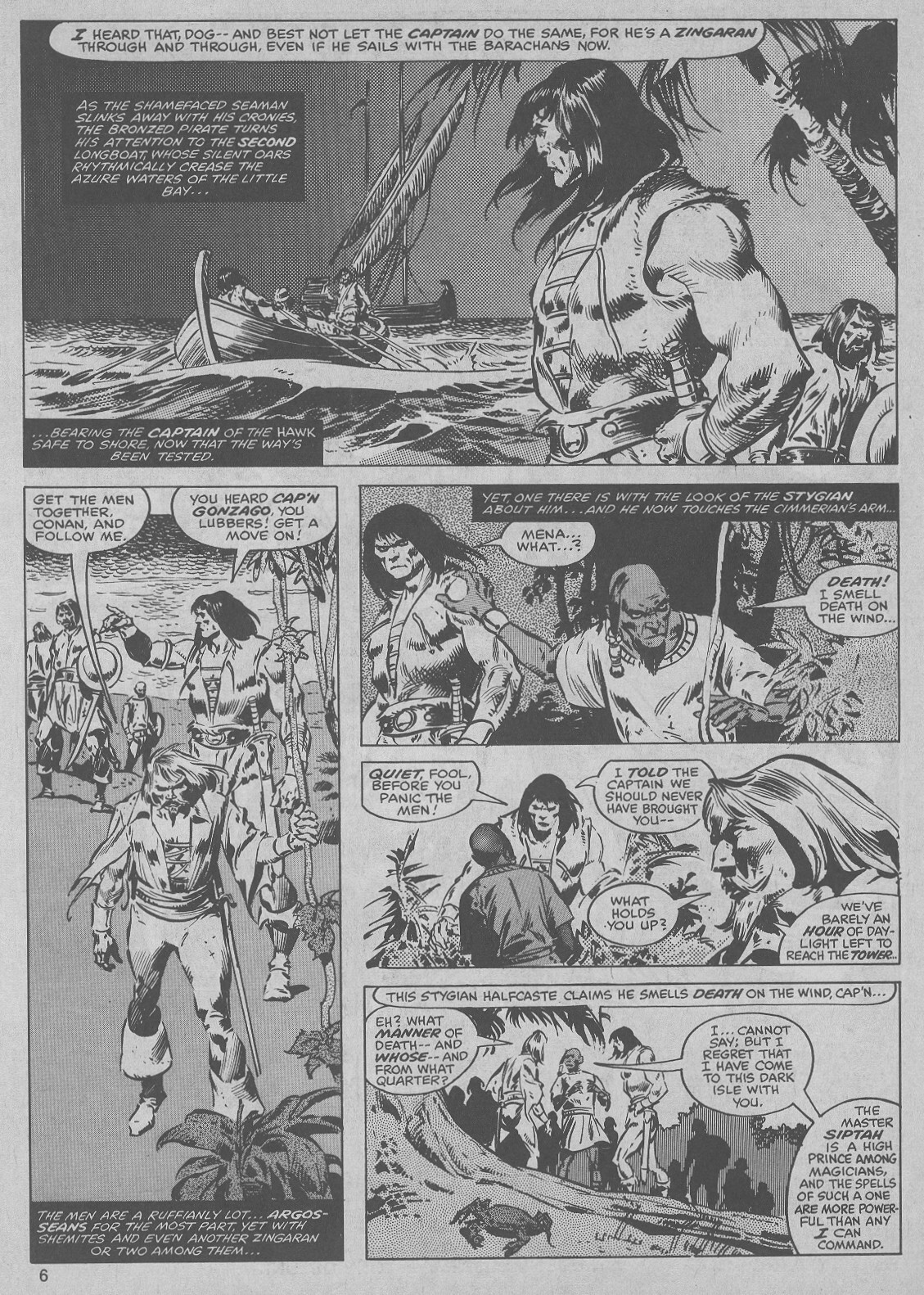 The Savage Sword Of Conan Issue #45 #46 - English 6