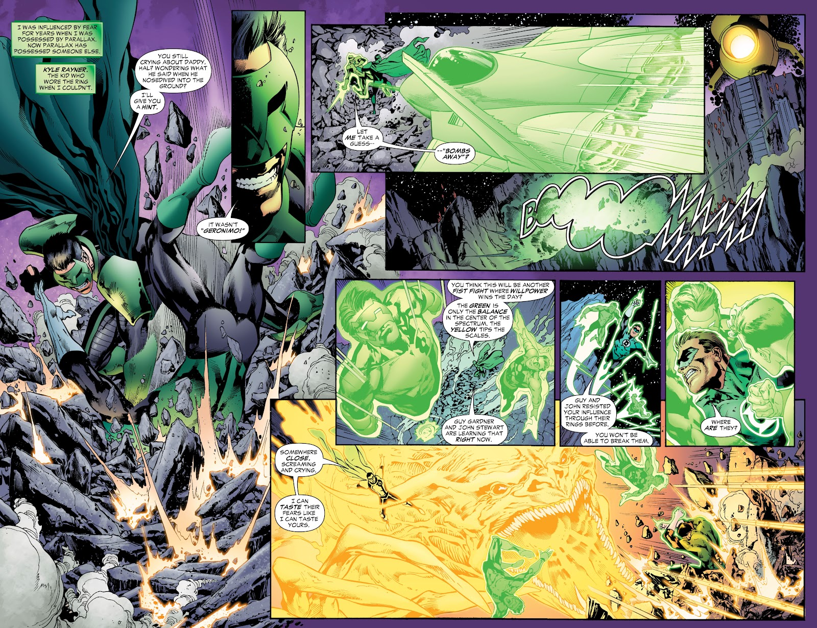 Green Lantern: The Sinestro Corps War Full #1 - English 96