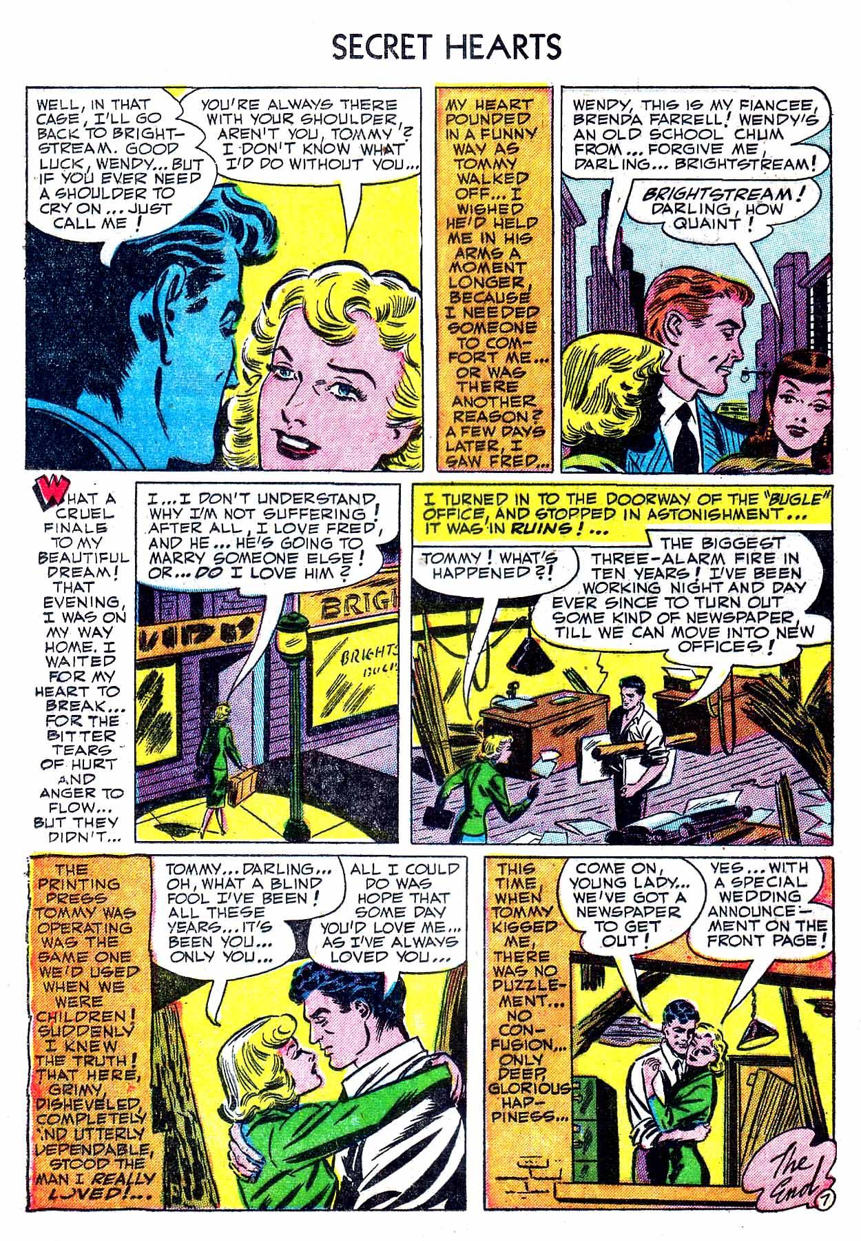 Read online Secret Hearts comic -  Issue #8 - 24