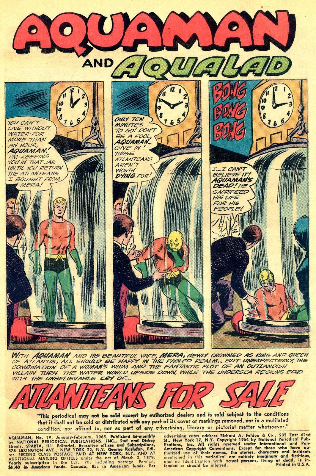 Aquaman (1962) Issue #19 #19 - English 3