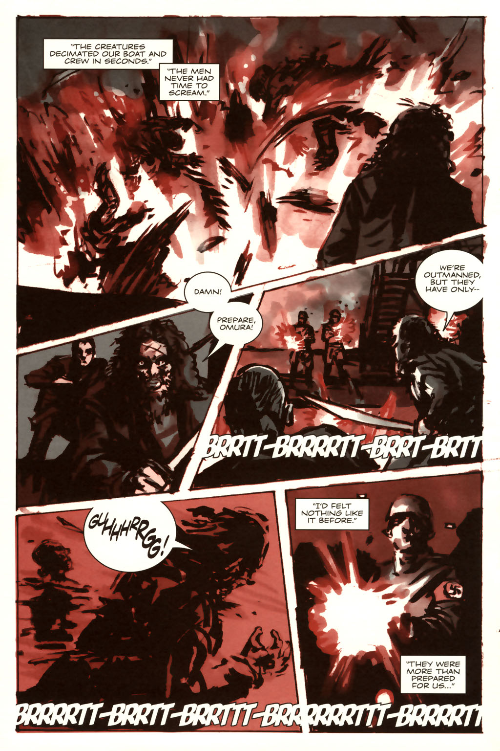 Read online Sea of Red comic -  Issue #9 - 9