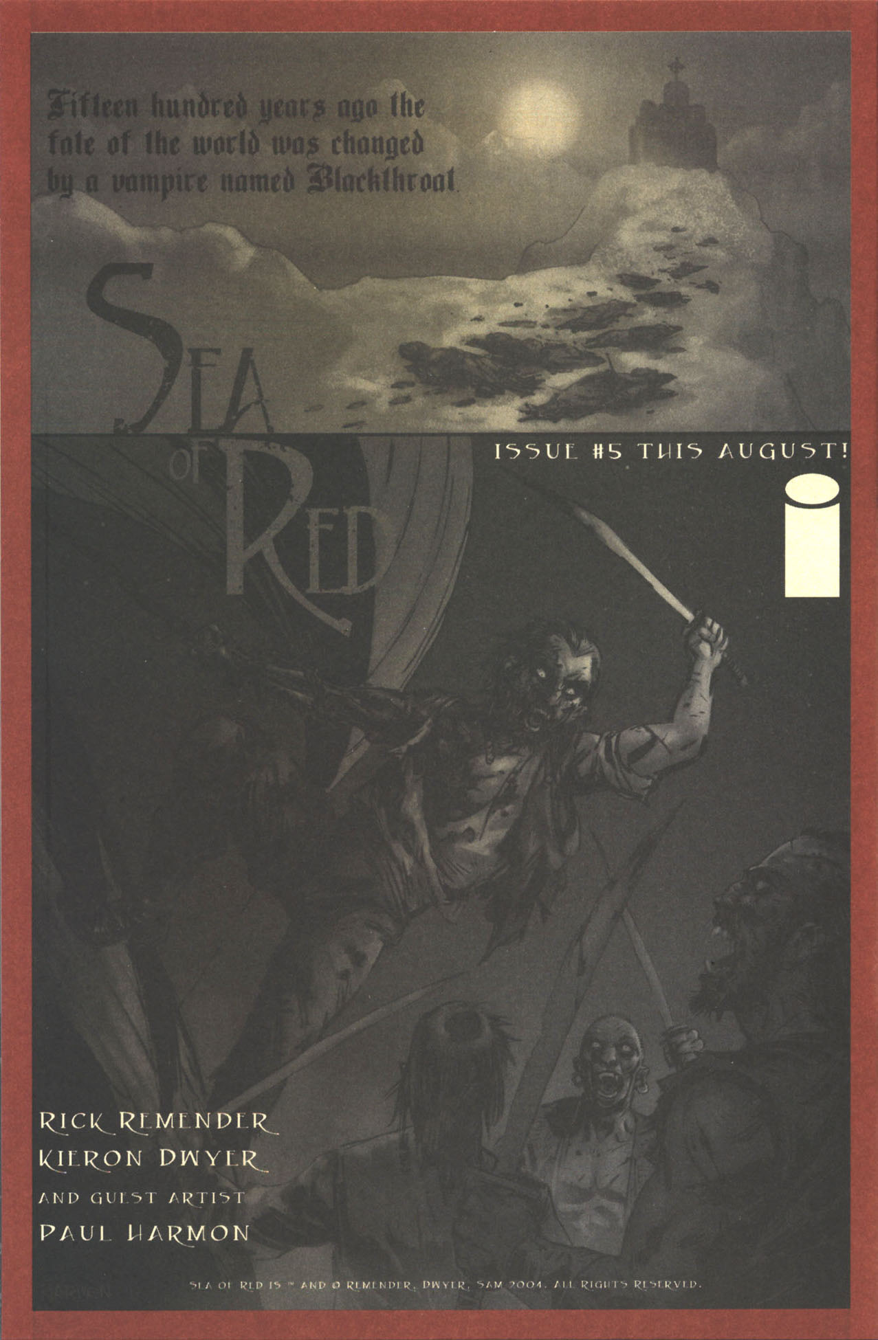 Read online Sea of Red comic -  Issue #2 - 32
