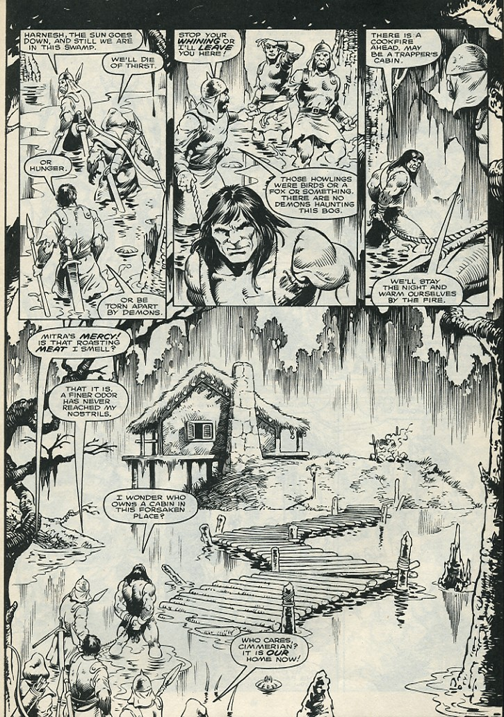 The Savage Sword Of Conan Issue #172 #173 - English 11
