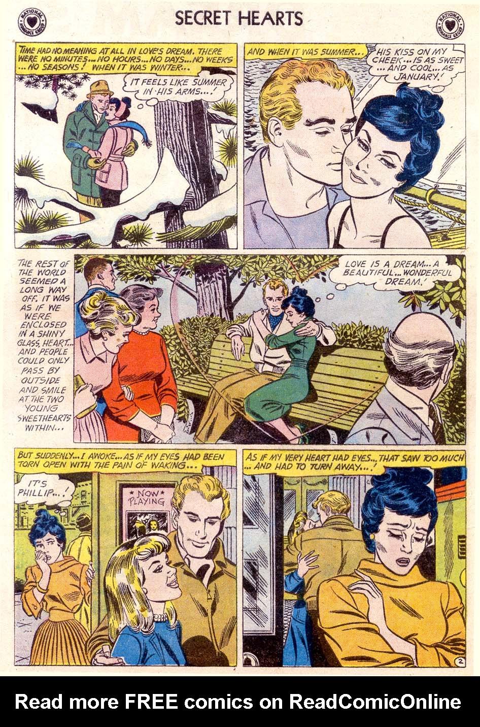 Read online Secret Hearts comic -  Issue #65 - 4