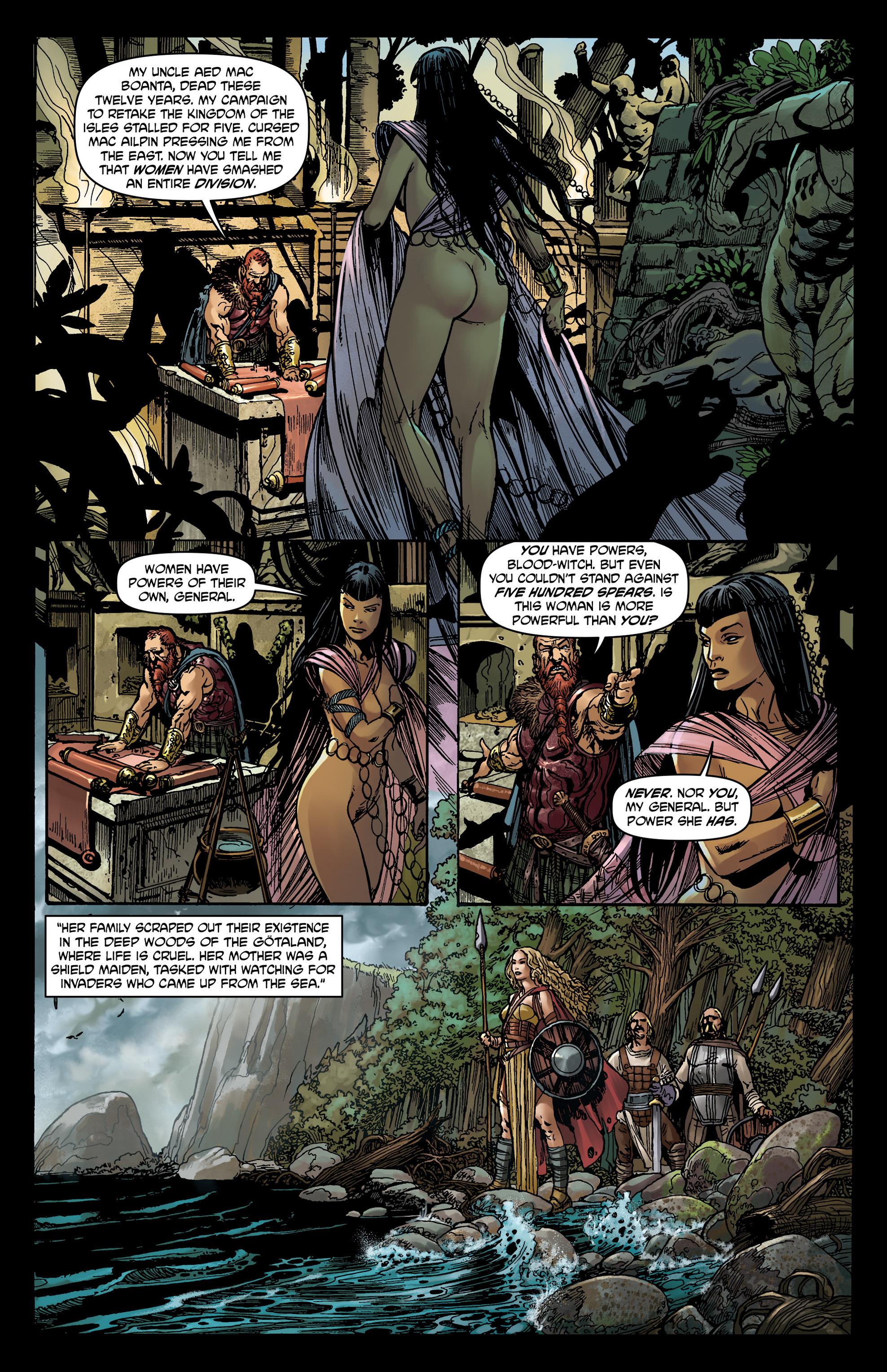 Read online Belladonna comic -  Issue #0 - 12