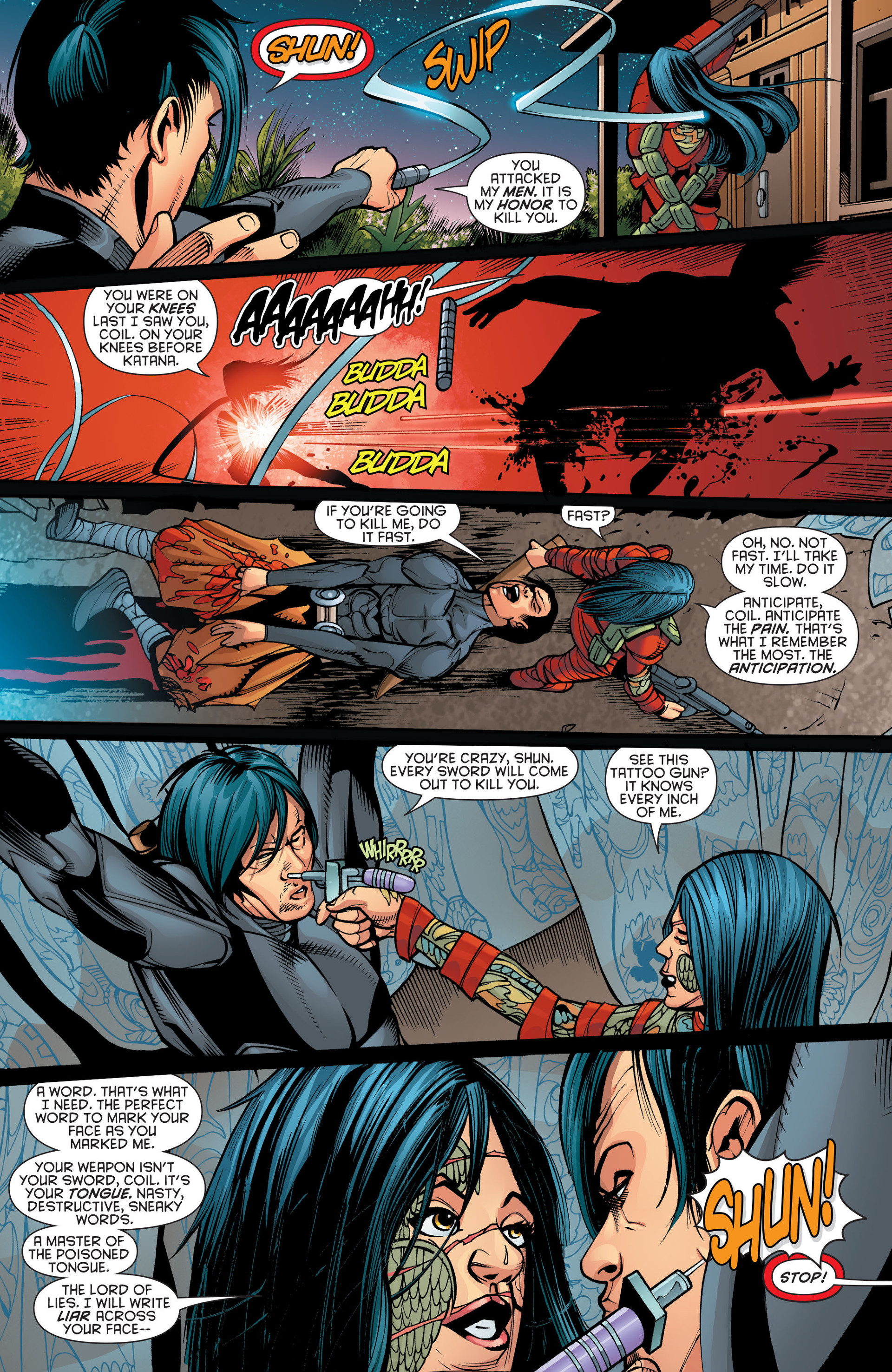 Read online Katana comic -  Issue #10 - 14