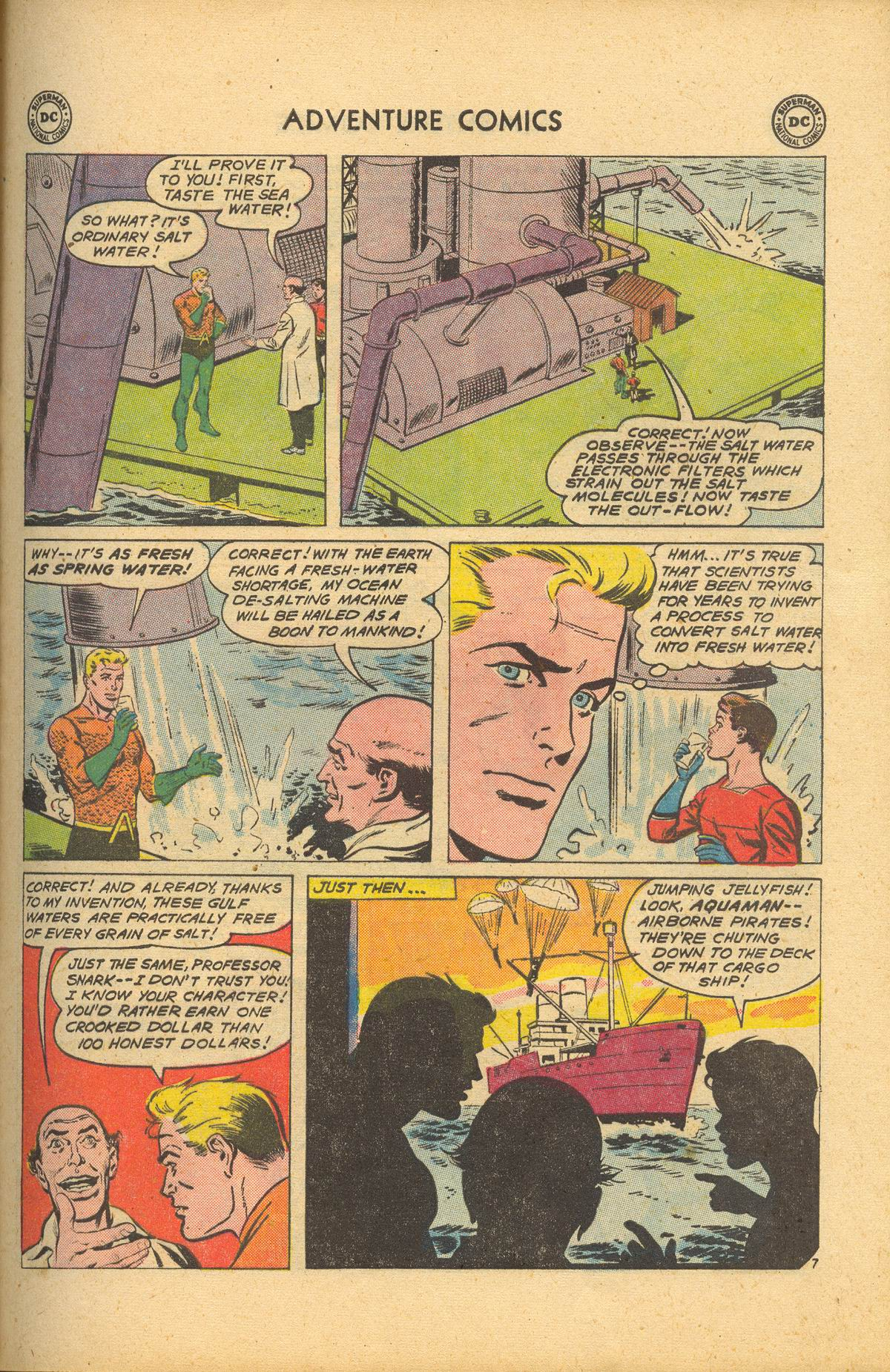Read online Adventure Comics (1938) comic -  Issue #284 - 25