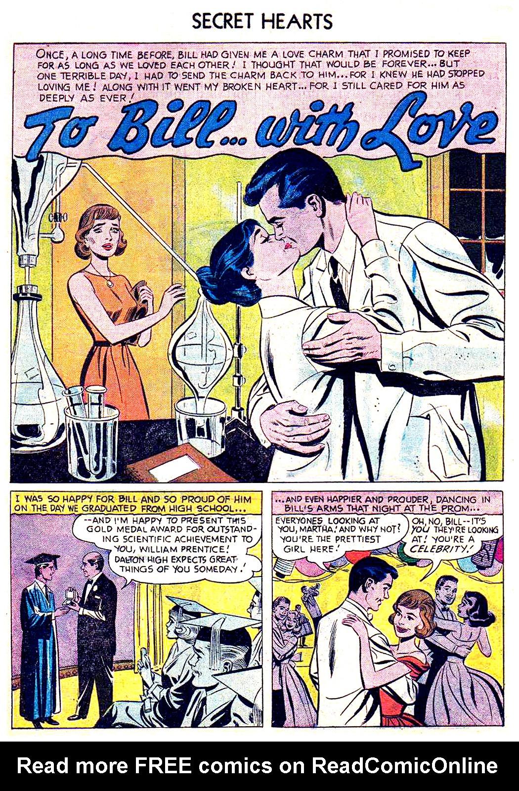 Read online Secret Hearts comic -  Issue #41 - 10