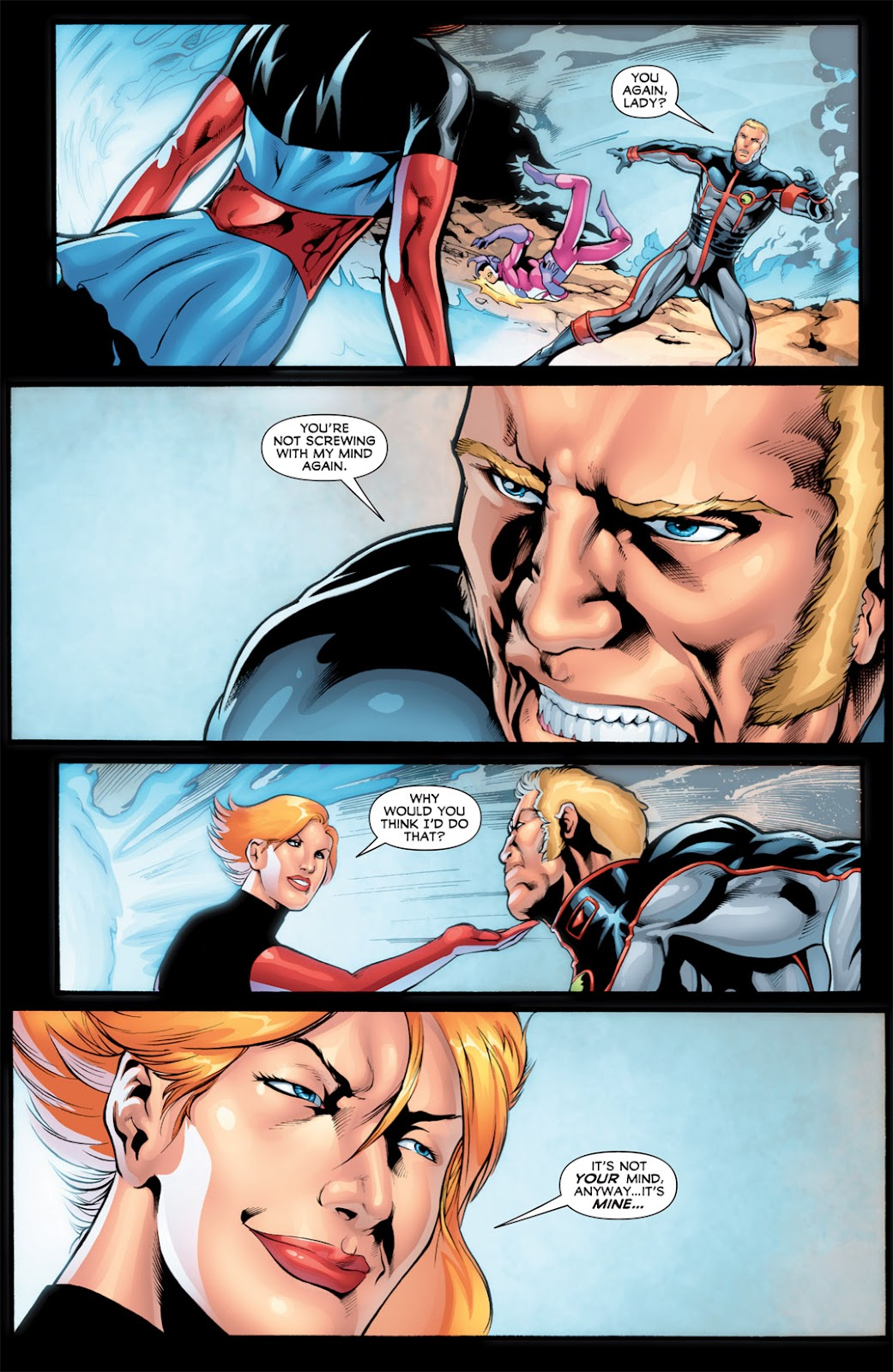 Legion of Super-Heroes (2010) Issue #16 #17 - English 3