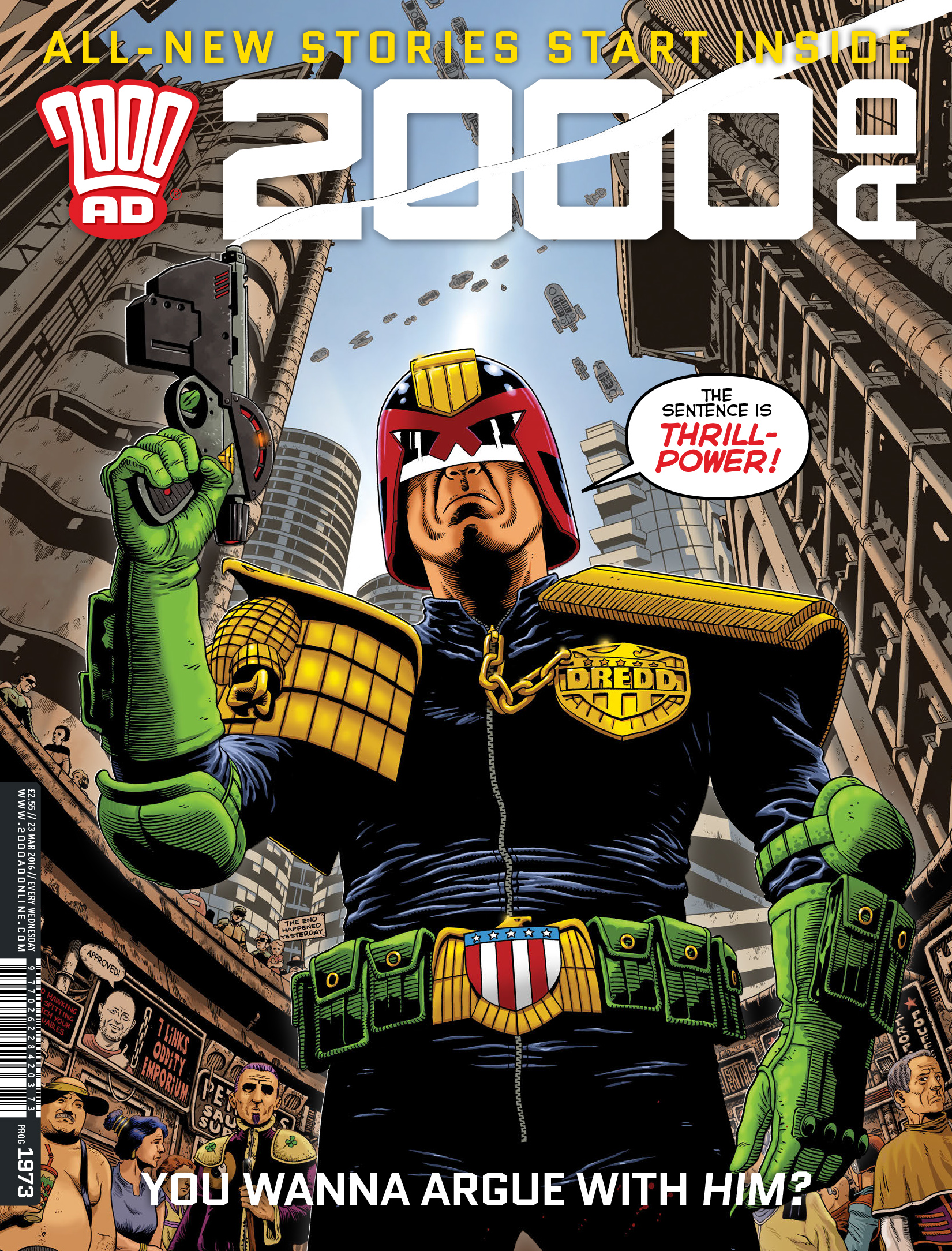 2000 AD 1973 Page 1