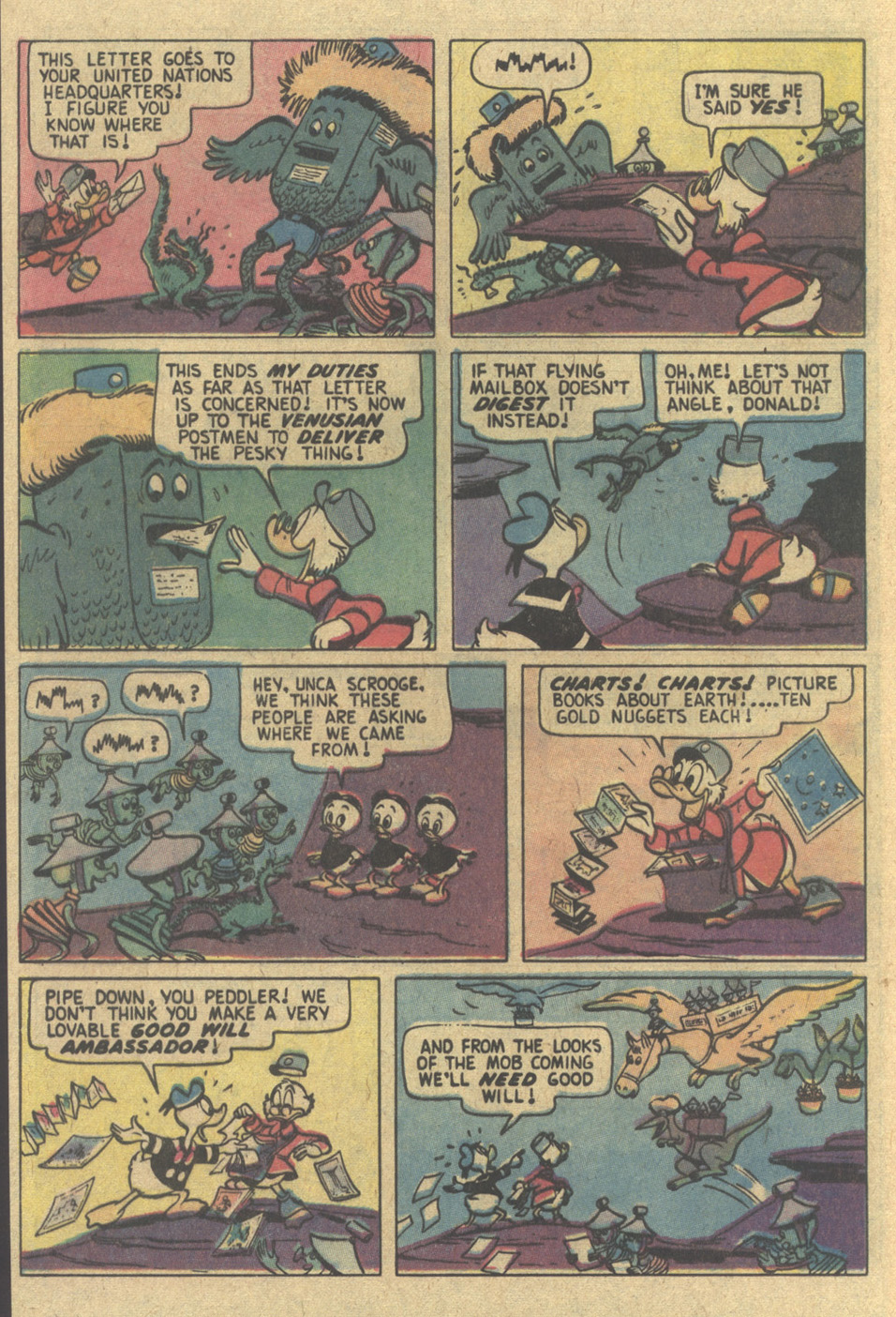 Uncle Scrooge (1953) Issue #154 #154 - English 12