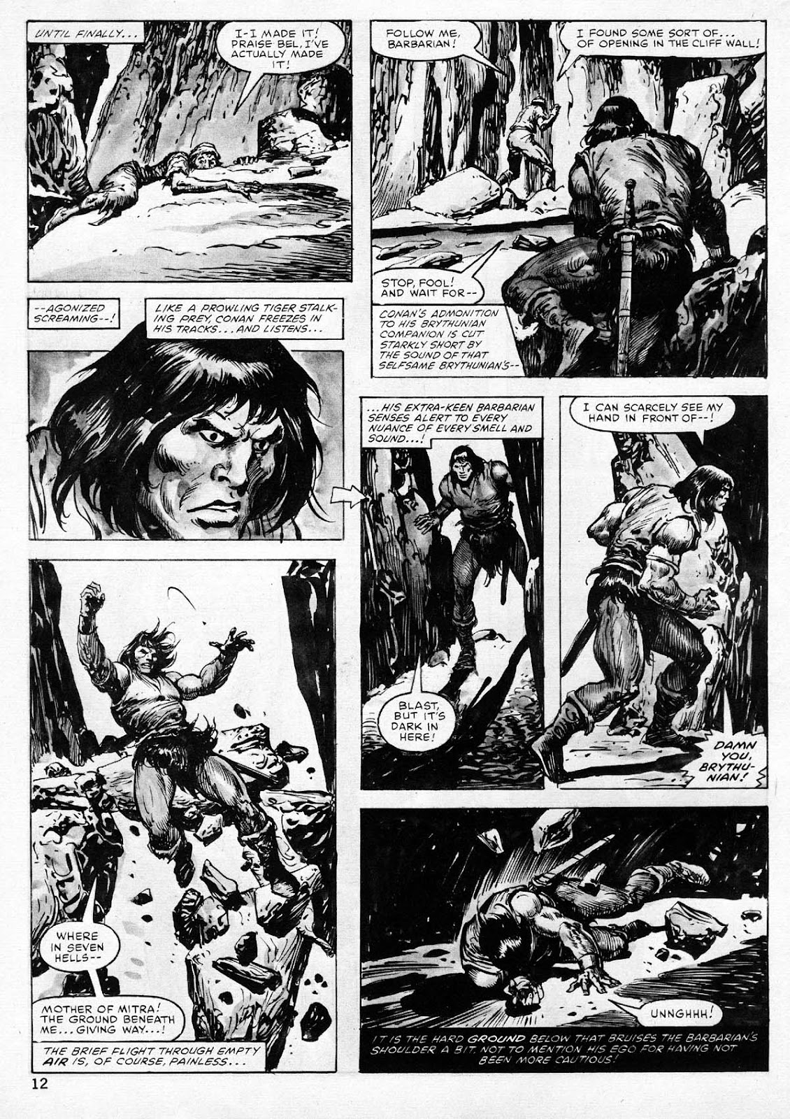 The Savage Sword Of Conan Issue #77 #78 - English 12