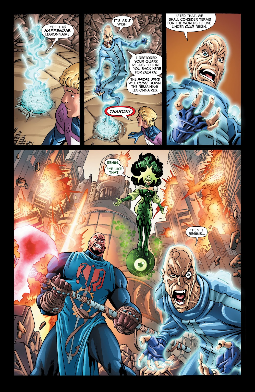 Legion of Super-Heroes (2011) Issue #21 #22 - English 16