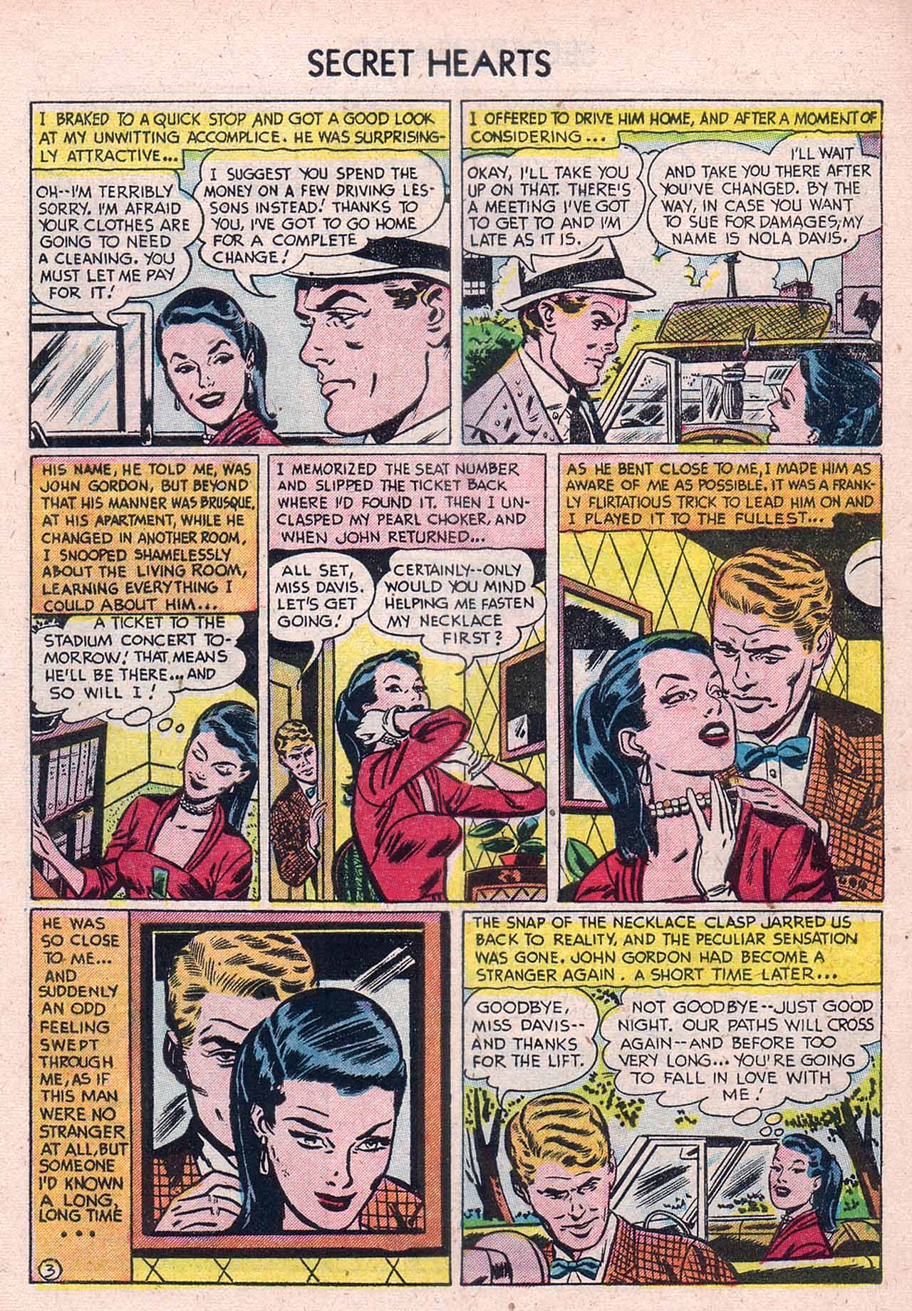 Read online Secret Hearts comic -  Issue #12 - 5