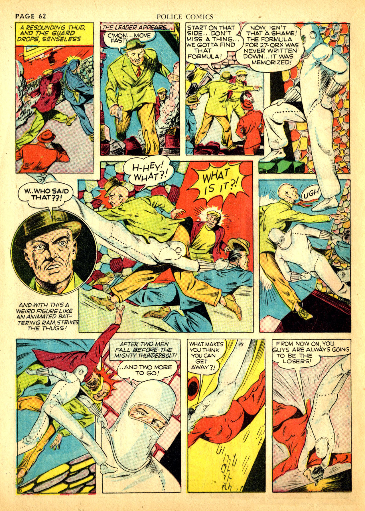Police Comics #1 #127 - English 65