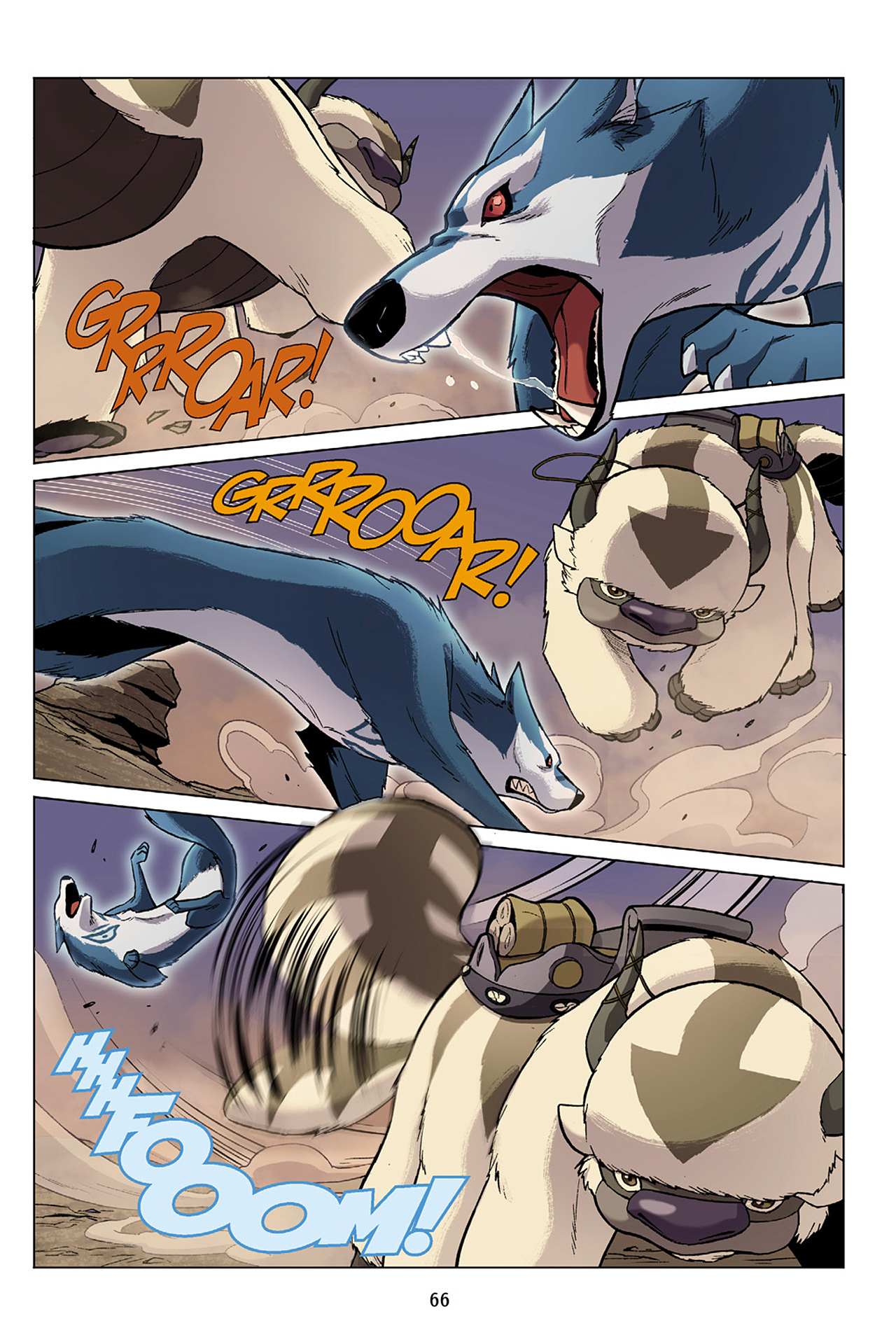 Read online Nickelodeon Avatar: The Last Airbender - The Search comic -  Issue # Part 1 - 67