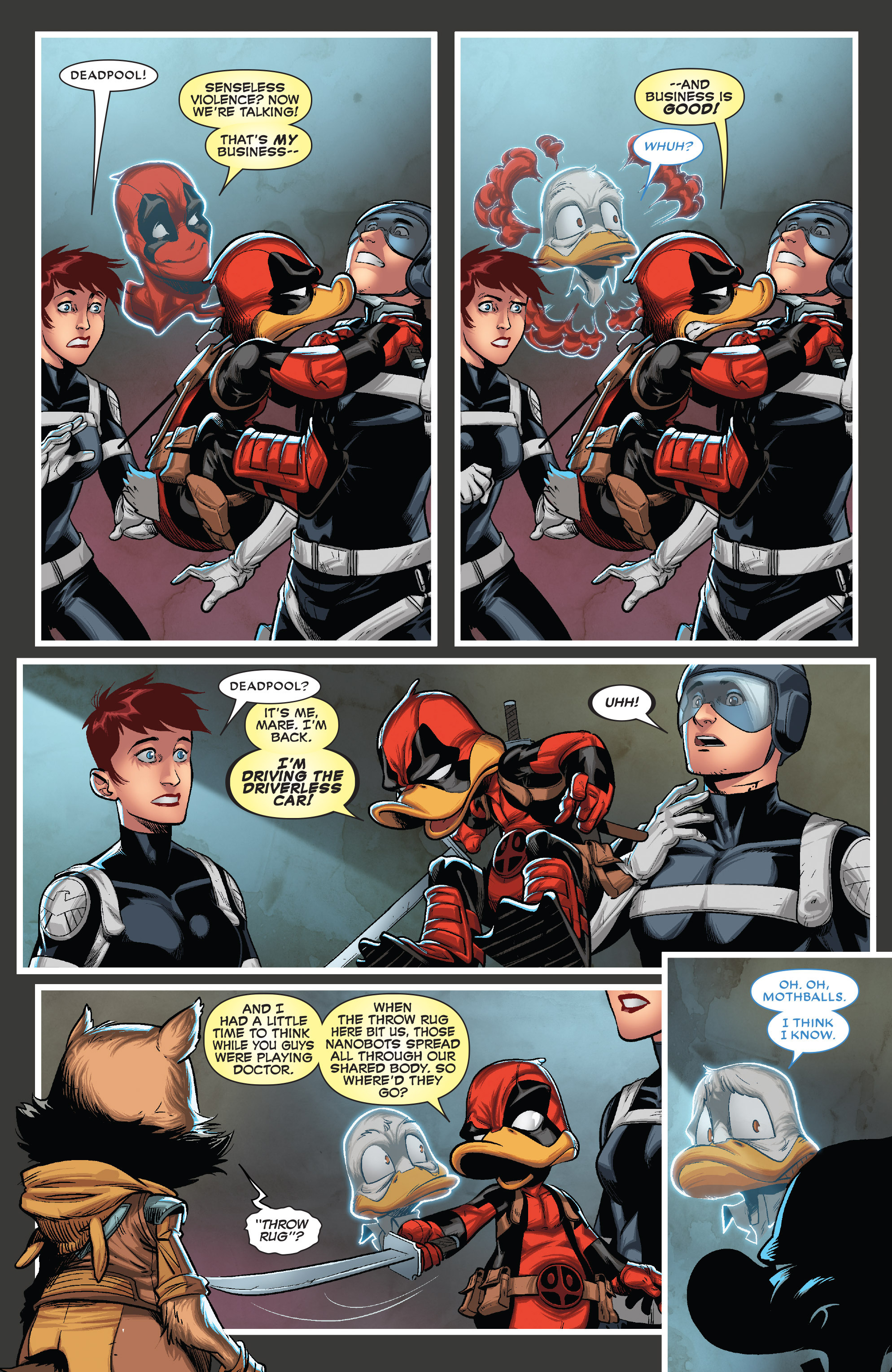 Read online Deadpool The Duck comic -  Issue #5 - 6