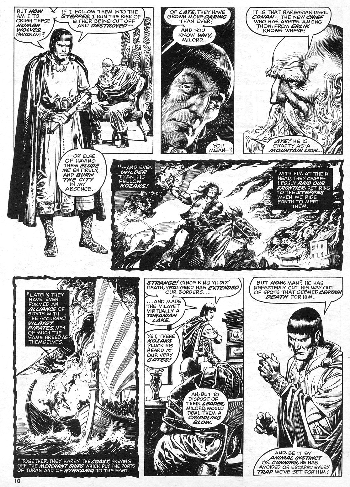 The Savage Sword Of Conan Issue #15 #16 - English 10