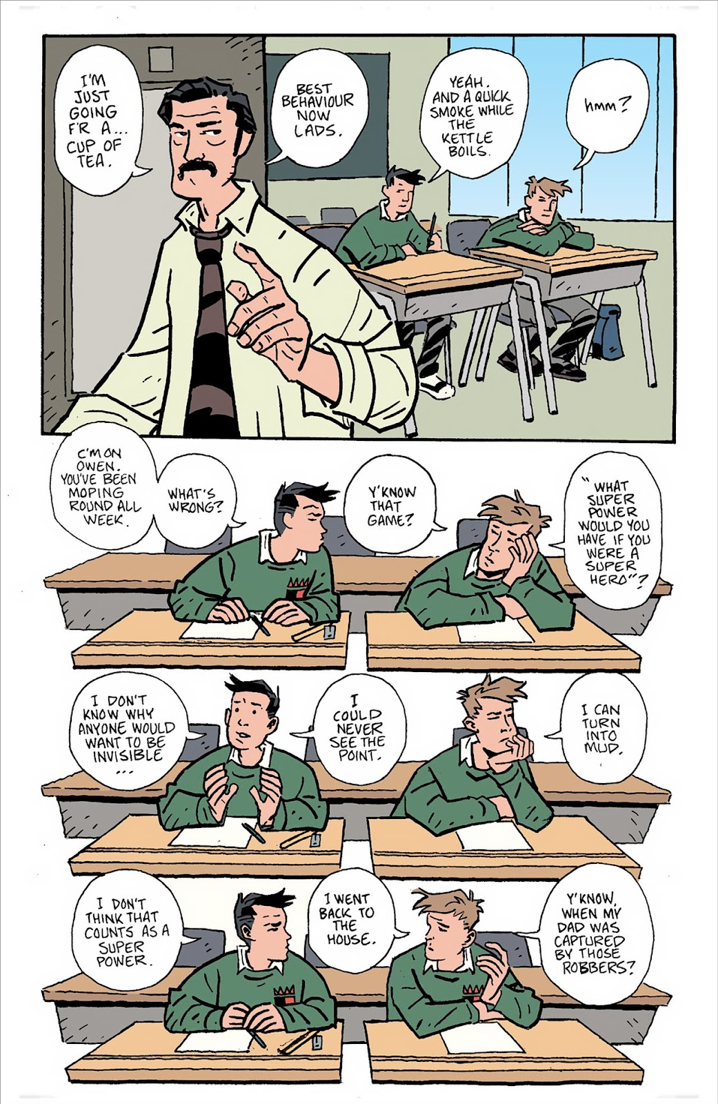 Mudman Issue #3 #3 - English 19
