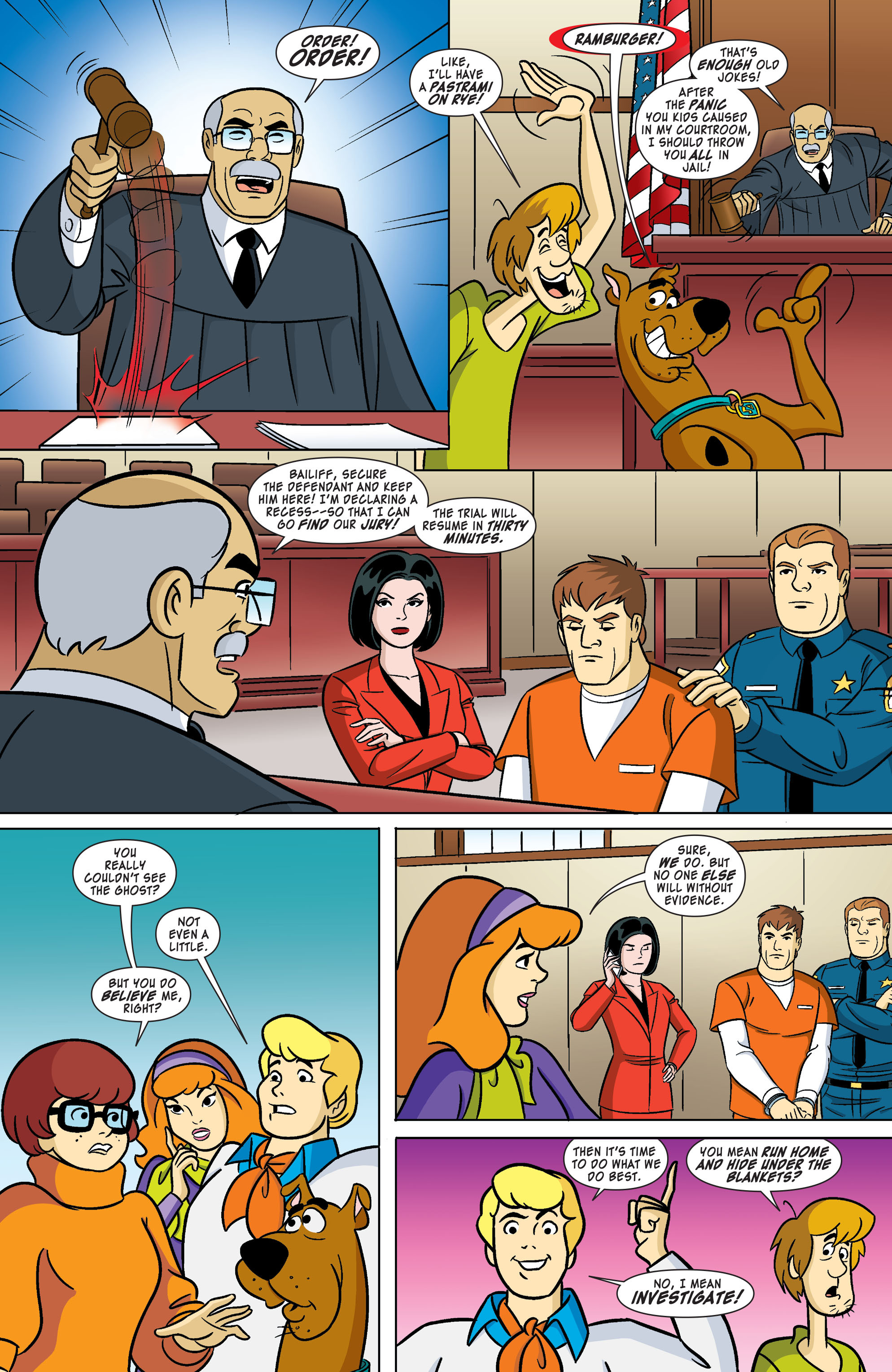 Read online Scooby-Doo: Where Are You? comic -  Issue #61 - 5