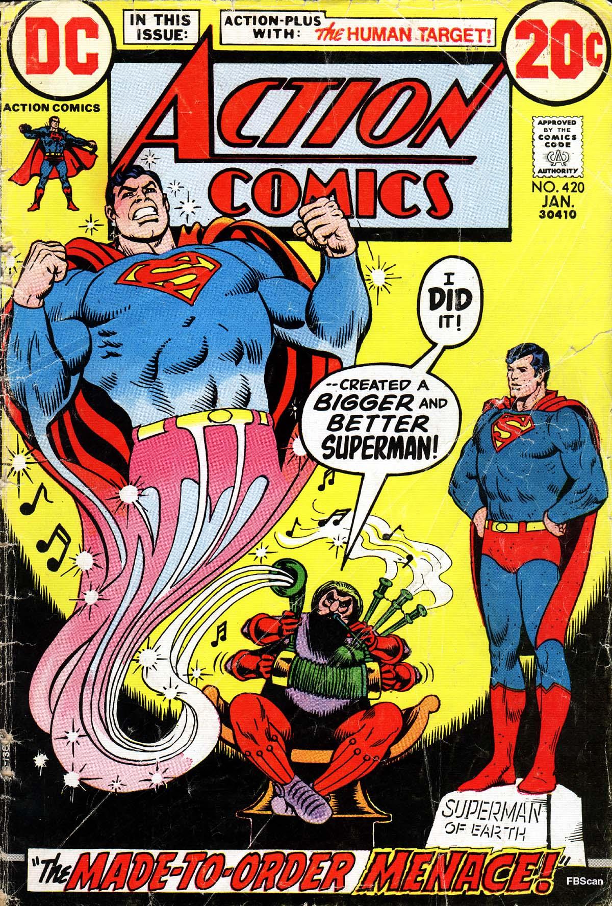 Action Comics (1938) 420 Page 1