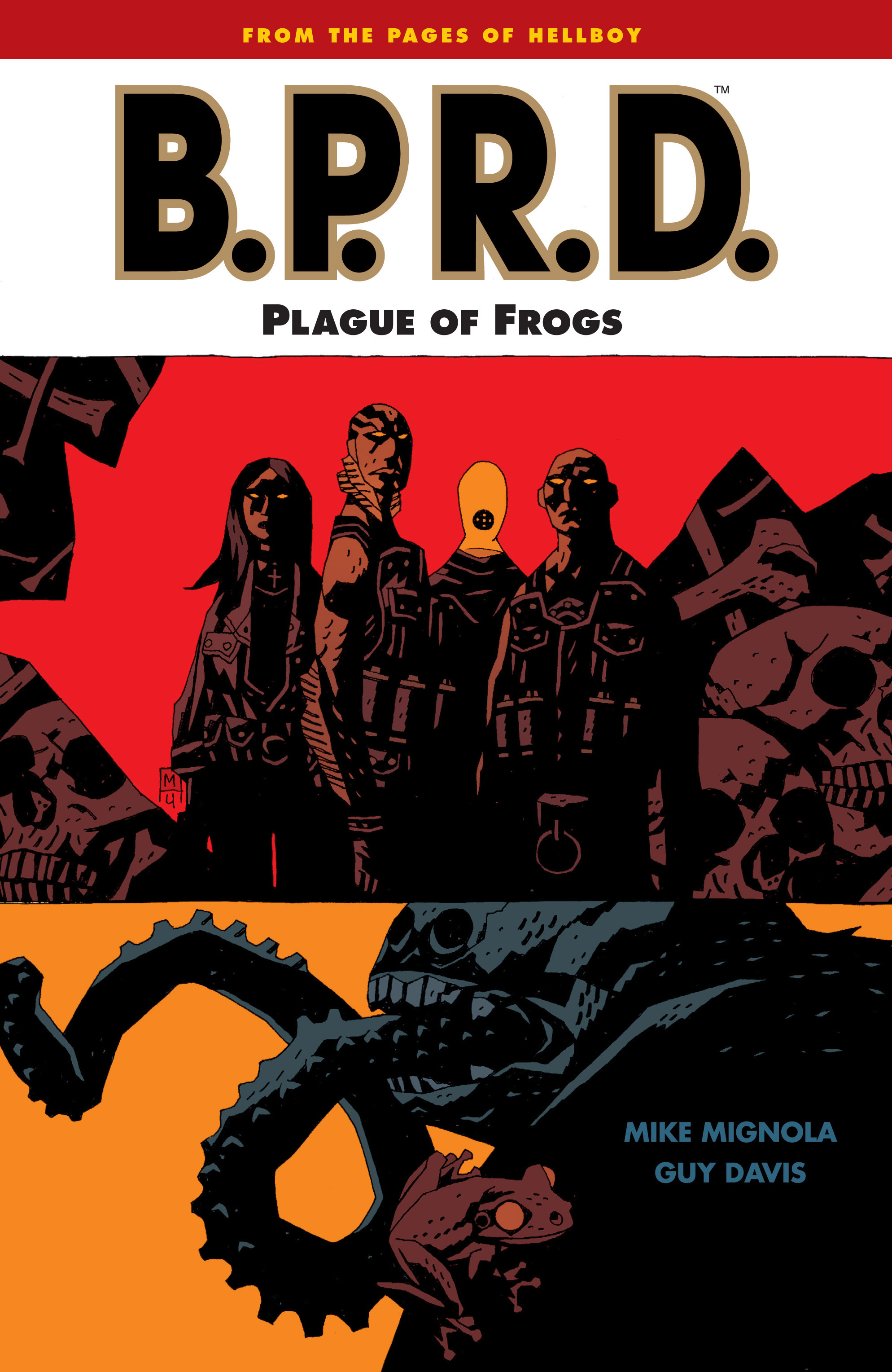 B.P.R.D.: Hollow Earth and Other Stories TPB_3 Page 1