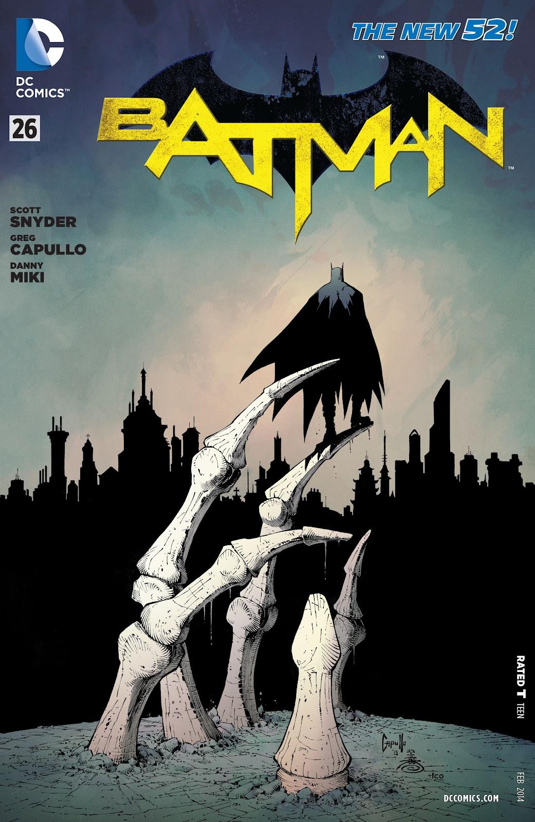 Batman (2011) Issue #26 #45 - English 24