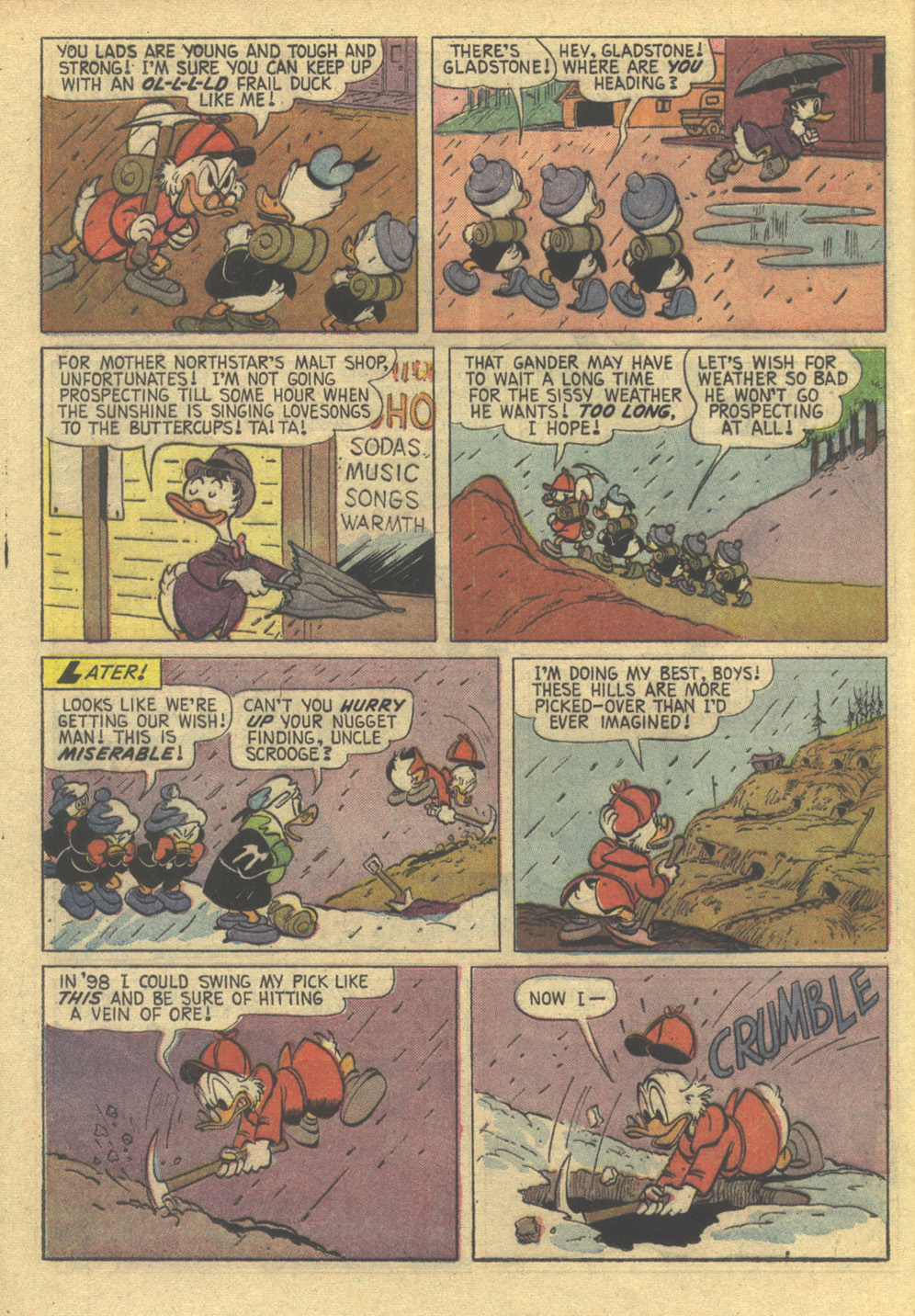 Uncle Scrooge (1953) Issue #86 #86 - English 12