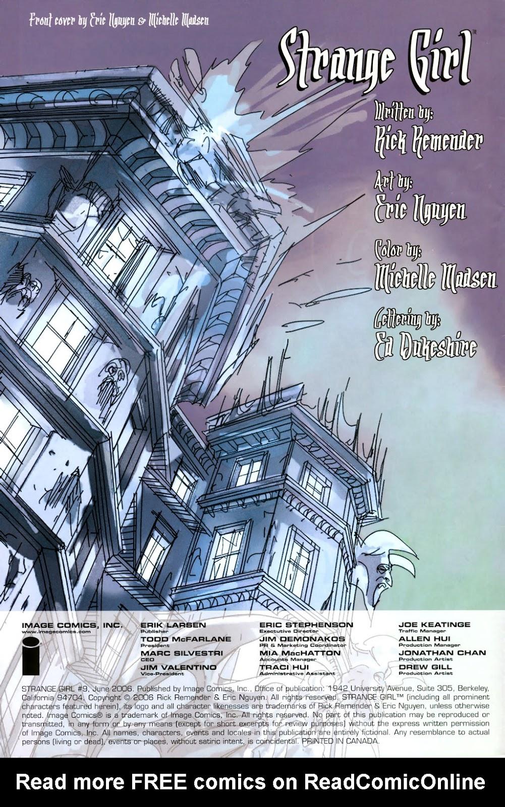 Strange Girl Issue #9 #10 - English 2