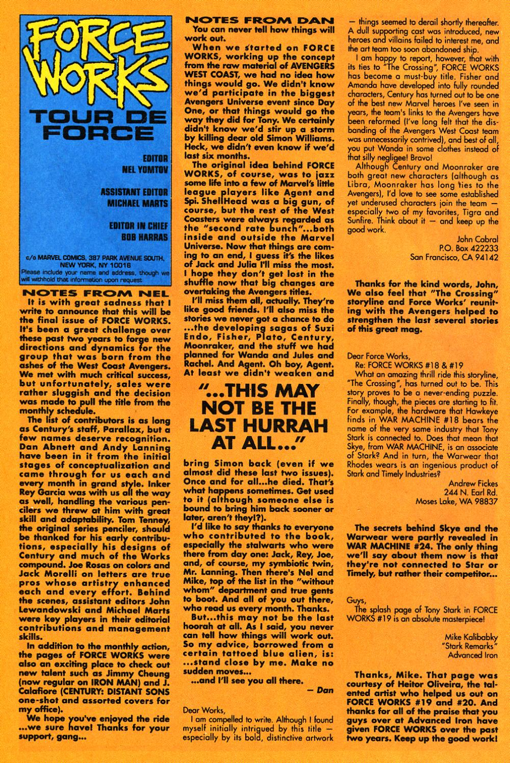 Force Works Issue #22 #22 - English 25