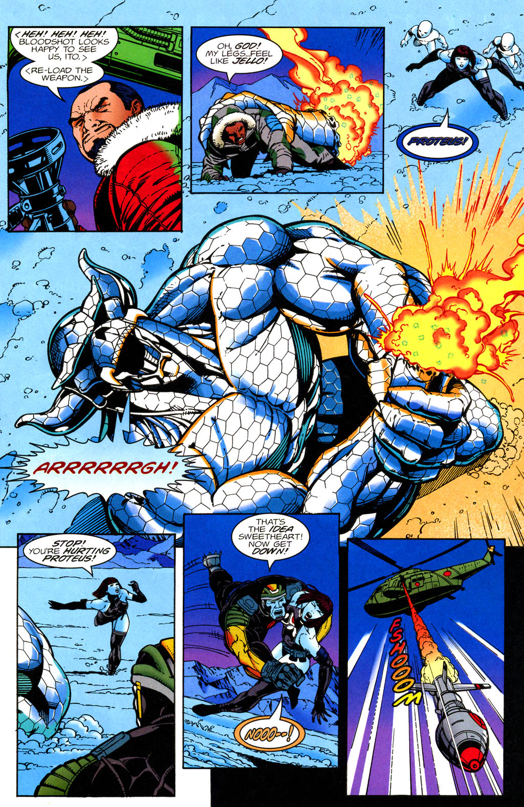 Read online Bloodshot (1993) comic -  Issue #51 - 6