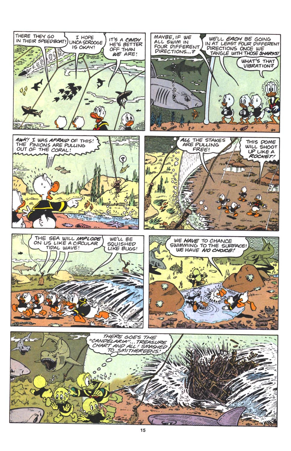 Uncle Scrooge (1953) Issue #263 #263 - English 16