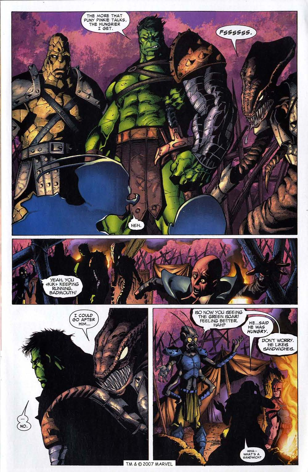 Read online The Incredible Hulk (2000) comic -  Issue #96 - 5