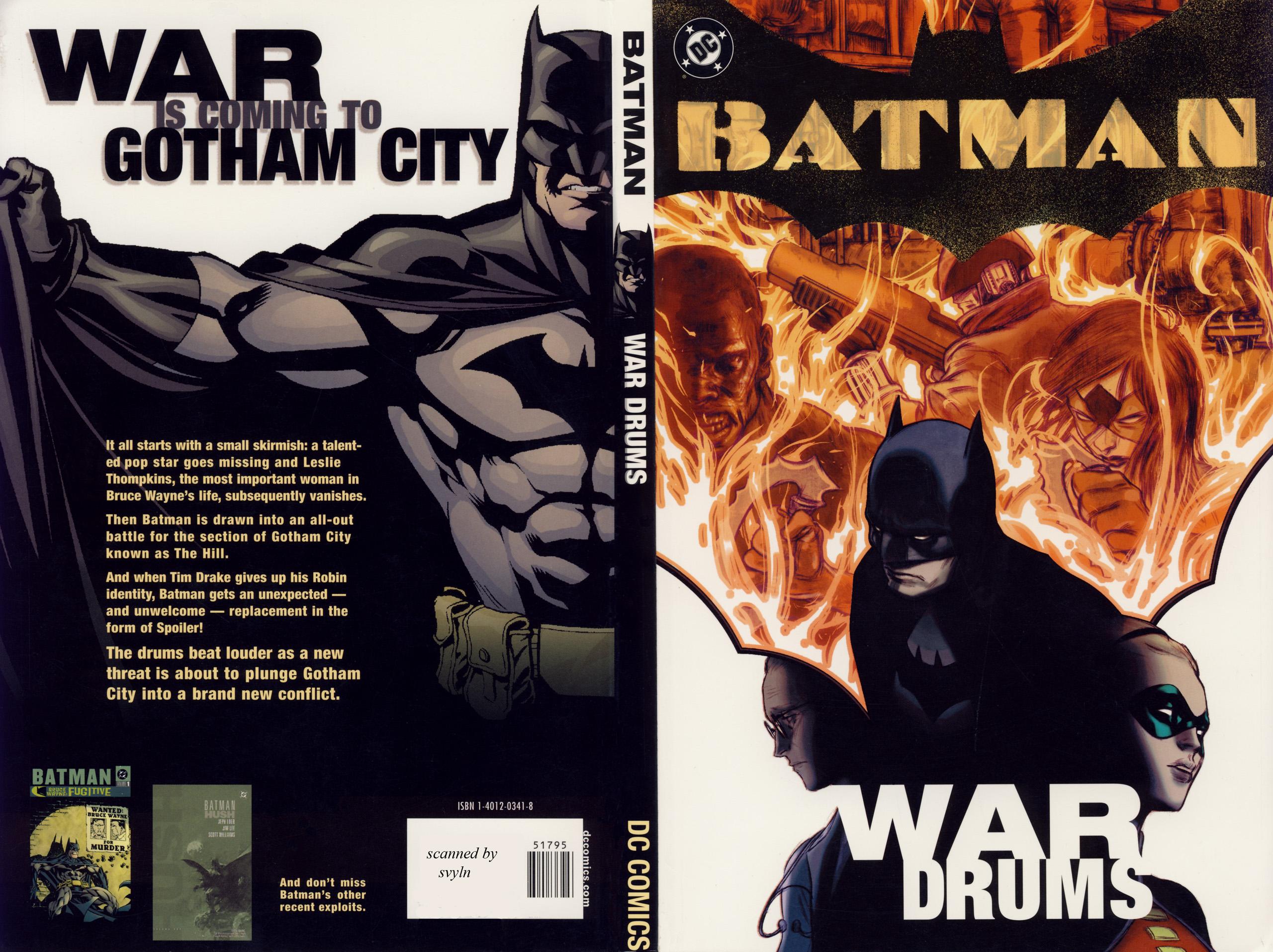 Batman War Drums TPB Page 1