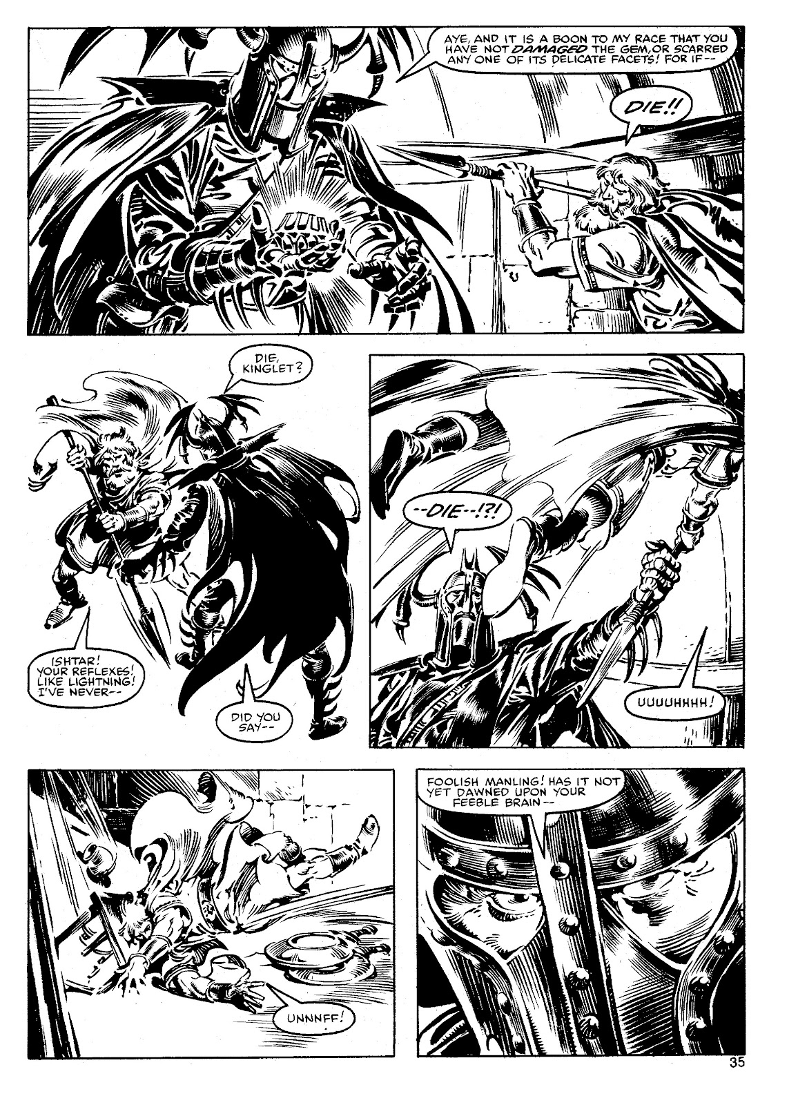 The Savage Sword Of Conan Issue #90 #91 - English 34