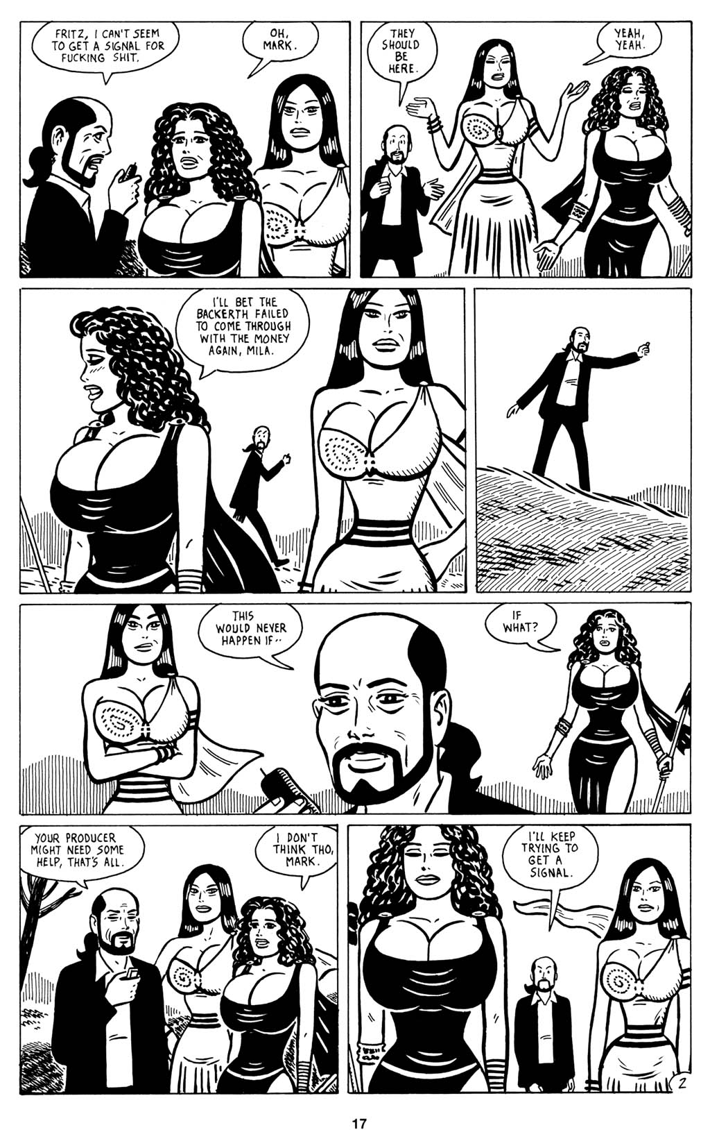 Read online Love and Rockets (2001) comic -  Issue #15 - 19