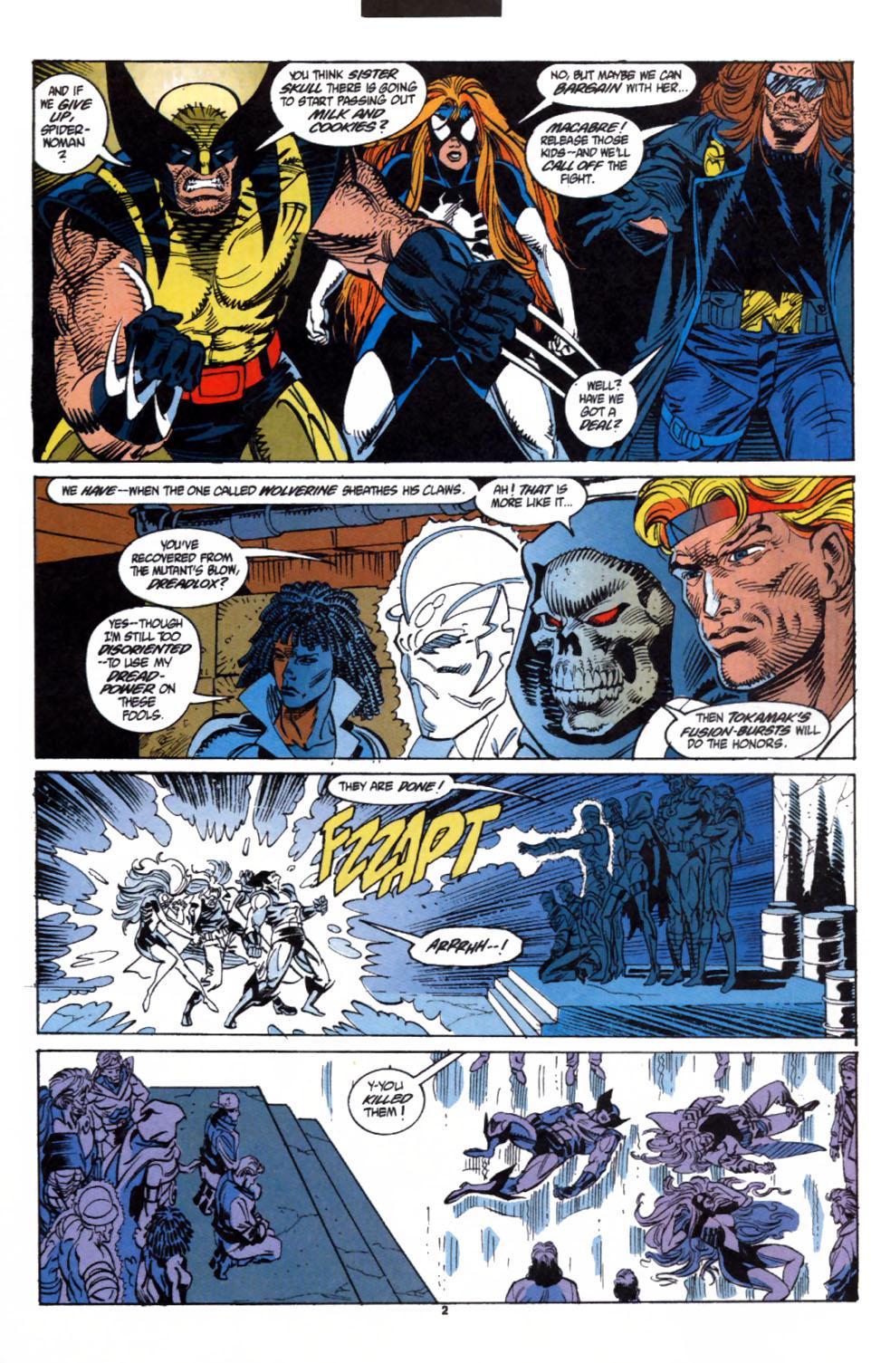 Read online Secret Defenders comic -  Issue #3 - 3