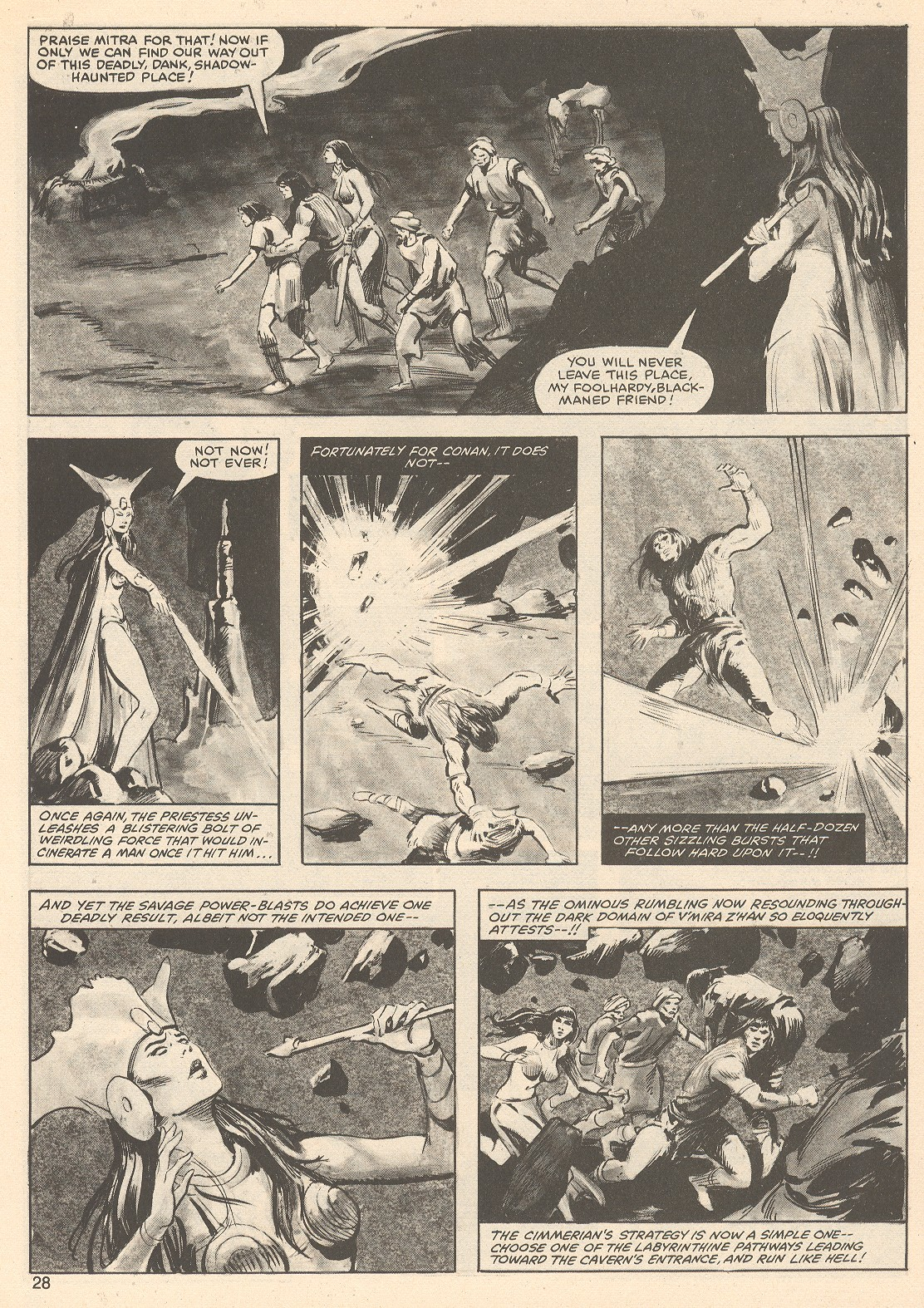 The Savage Sword Of Conan Issue #76 #77 - English 28