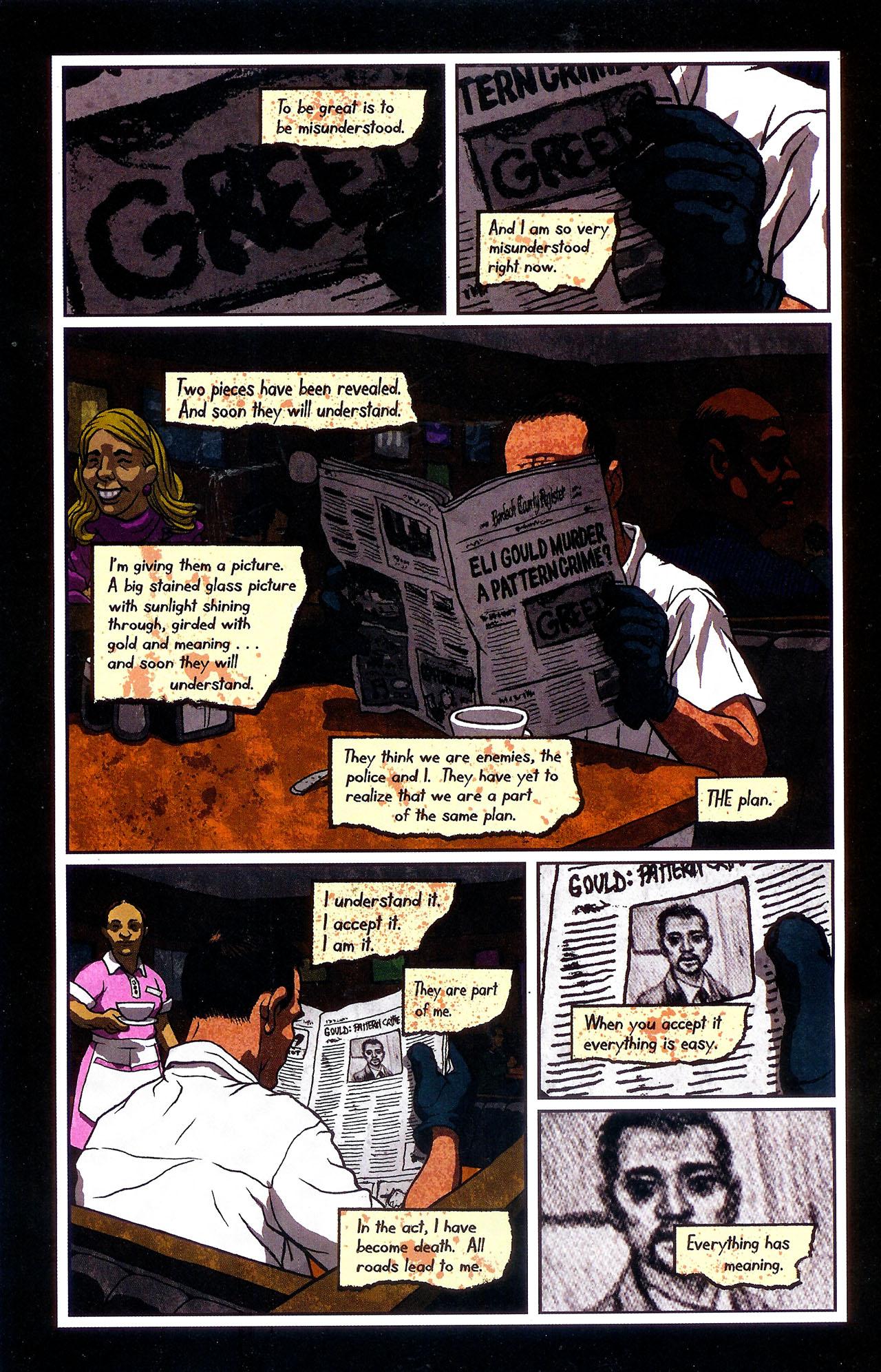 Read online Se7en comic -  Issue #6 - 8
