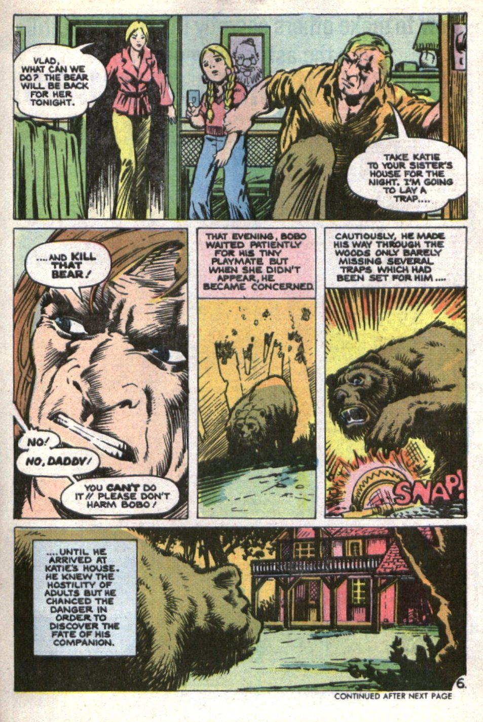 Read online Scary Tales comic -  Issue #21 - 29