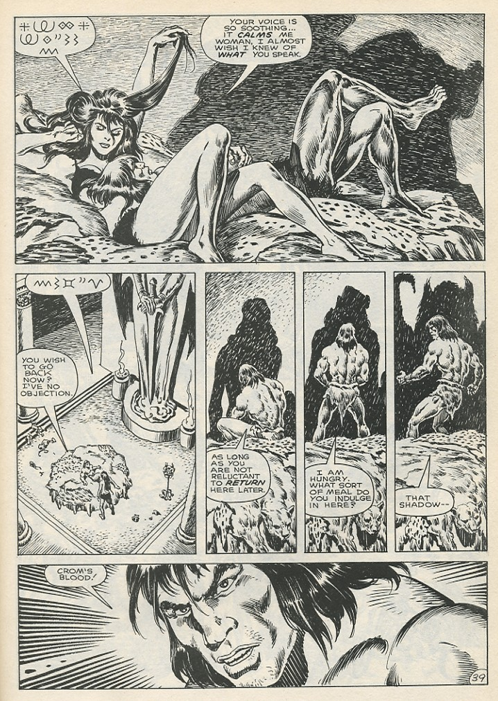 The Savage Sword Of Conan Issue #141 #142 - English 45